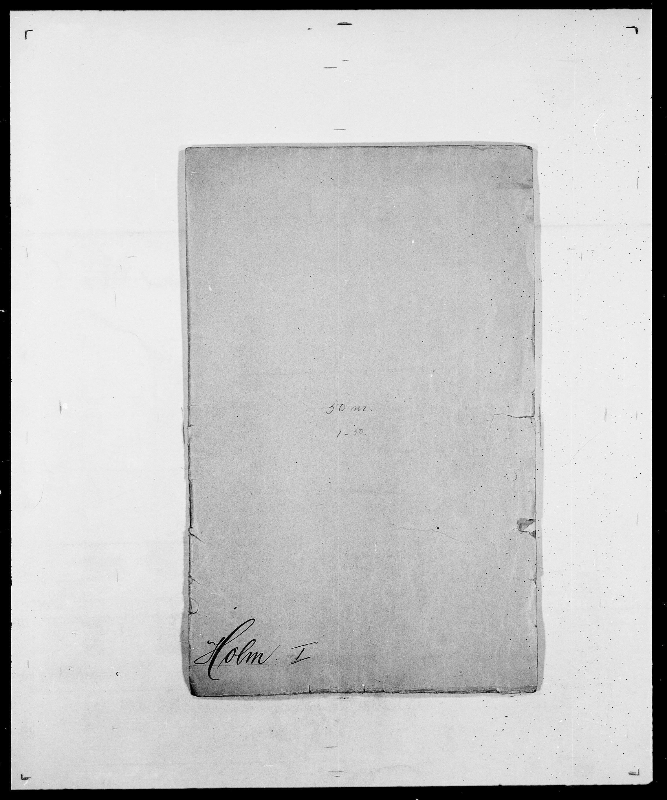 SAO, Delgobe, Charles Antoine - samling, D/Da/L0018: Hoch - Howert, s. 245