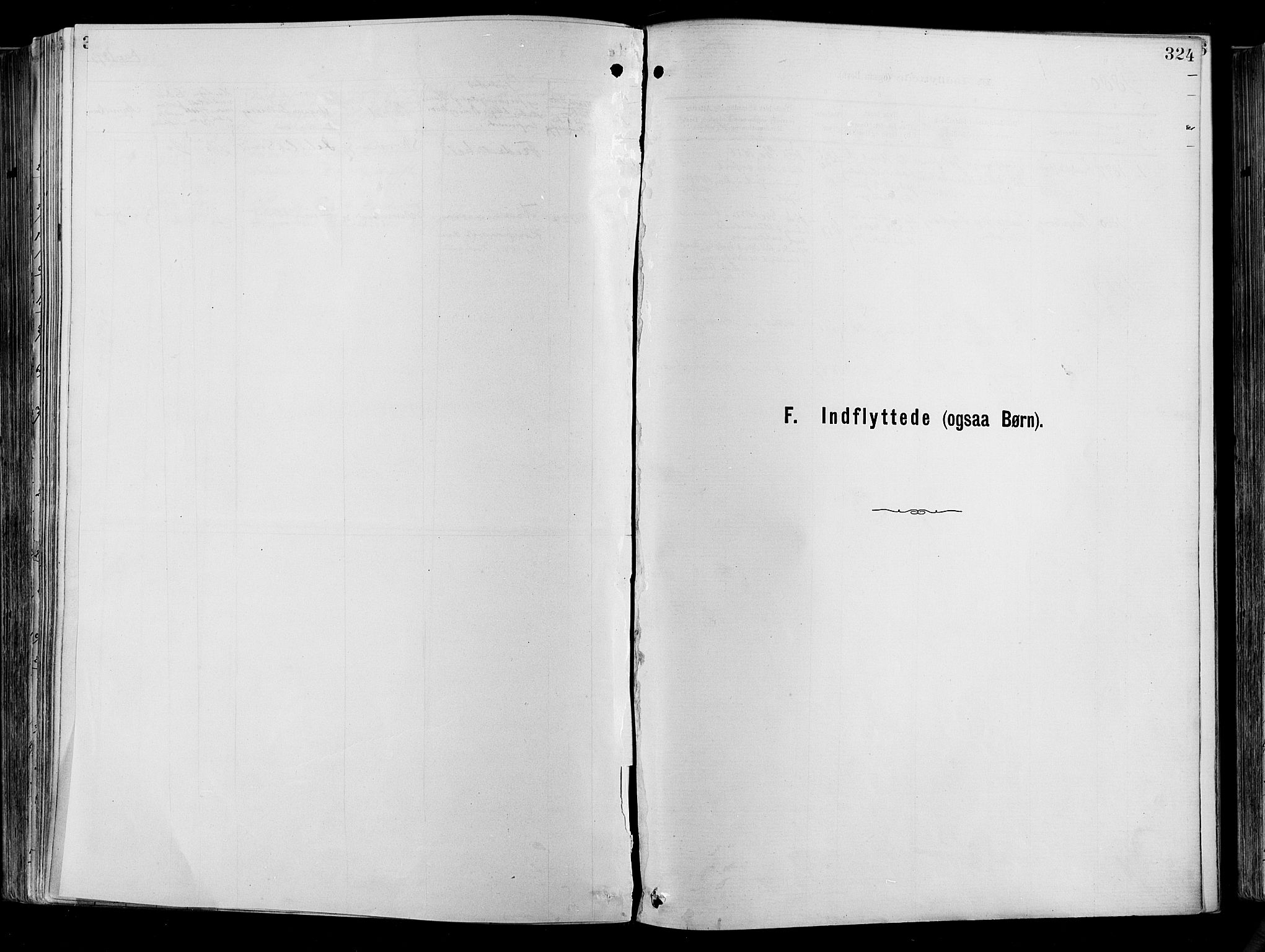 SAO, Garnisonsmenigheten Kirkebøker, F/Fa/L0012: Ministerialbok nr. 12, 1880-1893, s. 324