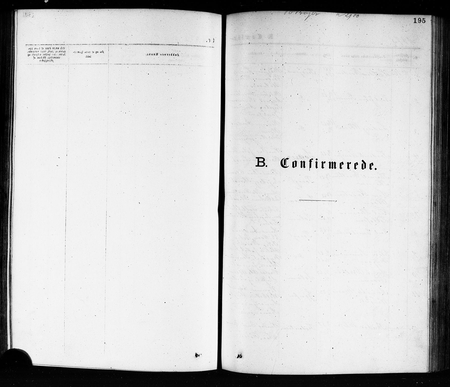 SAKO, Porsgrunn kirkebøker , G/Ga/L0003: Klokkerbok nr. I 3, 1877-1915, s. 195