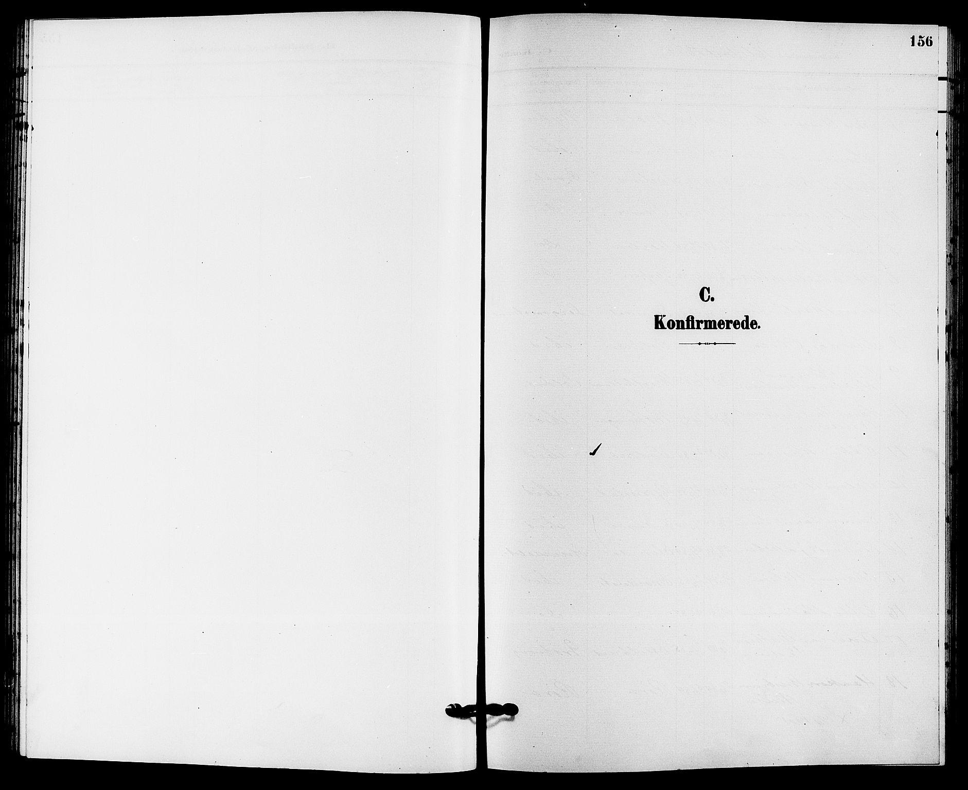 SAKO, Solum kirkebøker, G/Ga/L0008: Klokkerbok nr. I 8, 1898-1909, s. 156