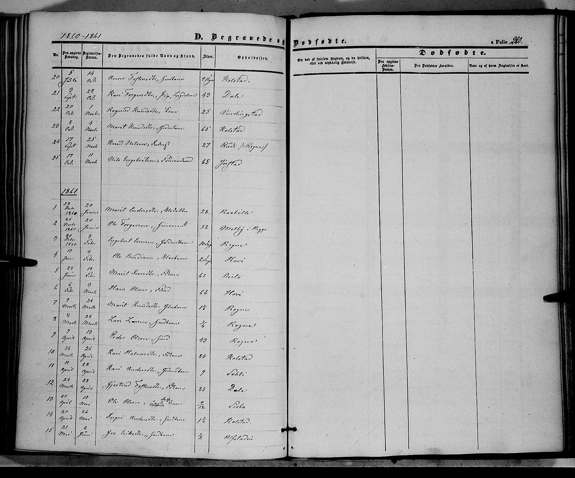 SAH, Øystre Slidre prestekontor, Ministerialbok nr. 1, 1849-1874, s. 220
