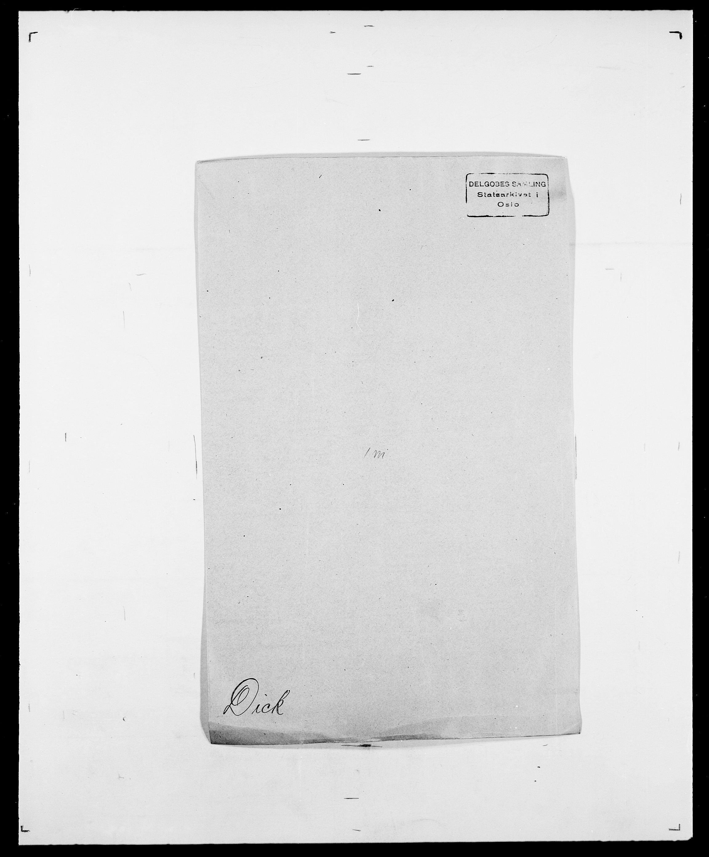 SAO, Delgobe, Charles Antoine - samling, D/Da/L0009: Dahl - v. Düren, s. 525