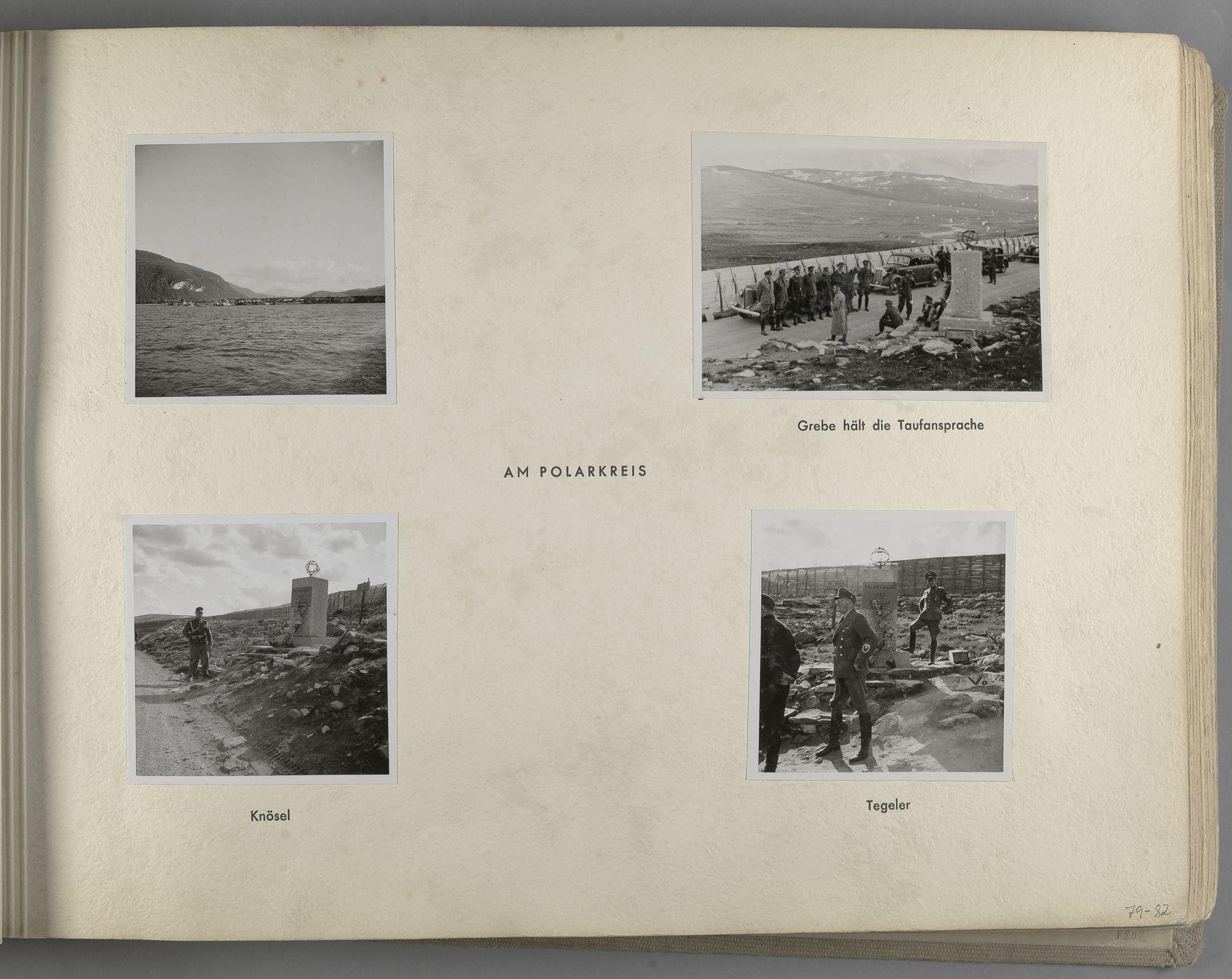 RA, Tyske arkiver, Reichskommissariat, Bildarchiv, U/L0071: Fotoalbum: Mit dem Reichskommissar nach Nordnorwegen und Finnland 10. bis 27. Juli 1942, 1942, s. 31
