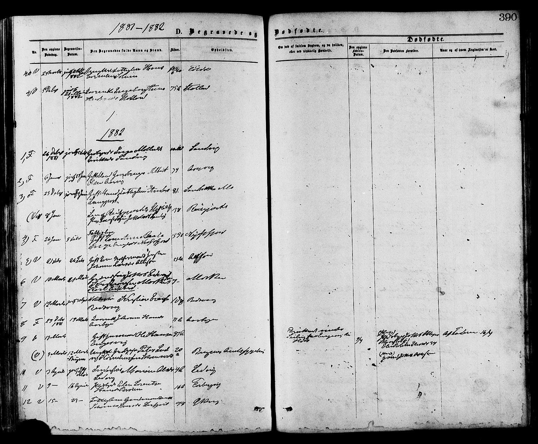 SAT, Ministerialprotokoller, klokkerbøker og fødselsregistre - Nord-Trøndelag, 773/L0616: Ministerialbok nr. 773A07, 1870-1887, s. 390