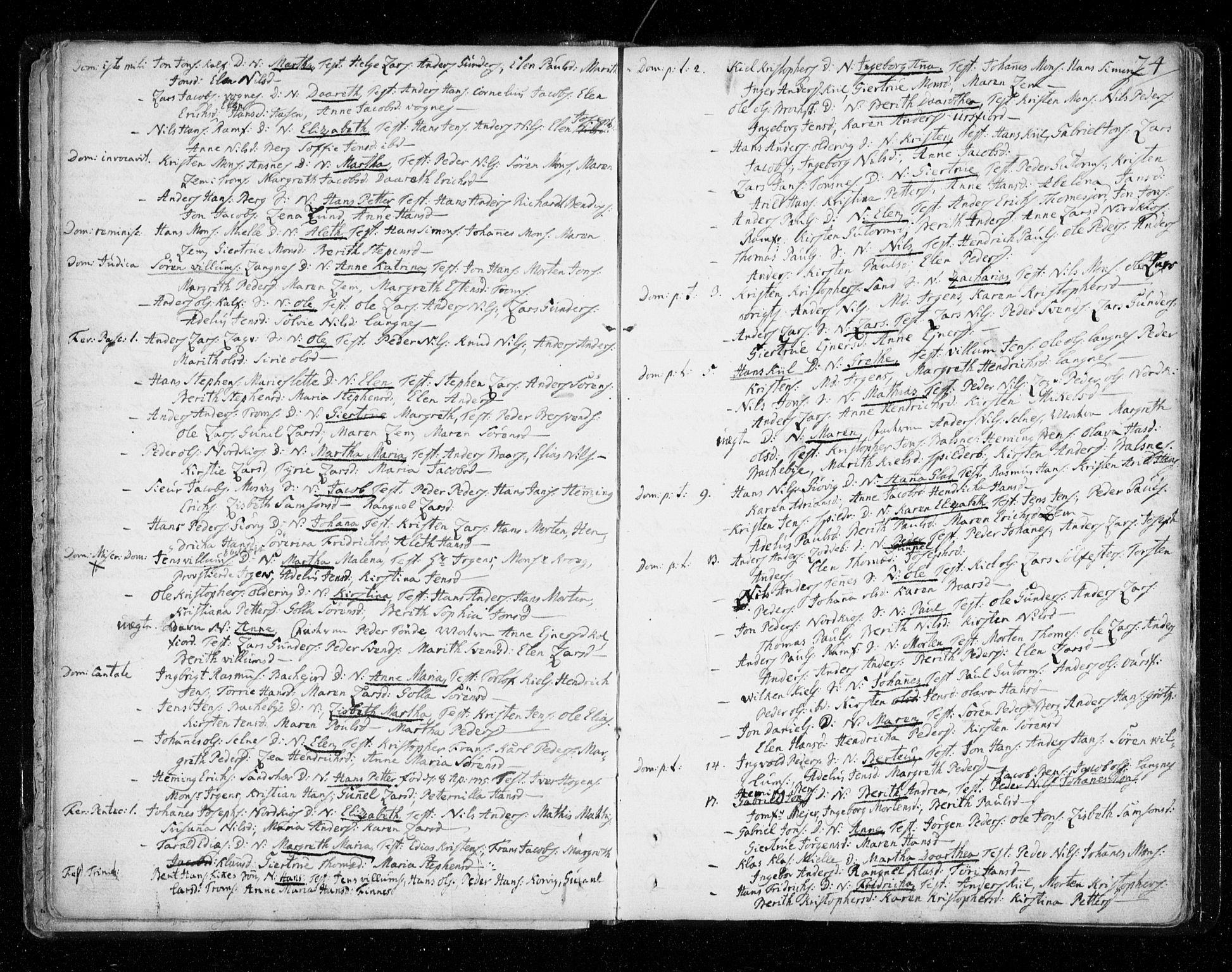 SATØ, Tromsø sokneprestkontor/stiftsprosti/domprosti, G/Ga/L0002kirke: Ministerialbok nr. 2, 1753-1778, s. 24