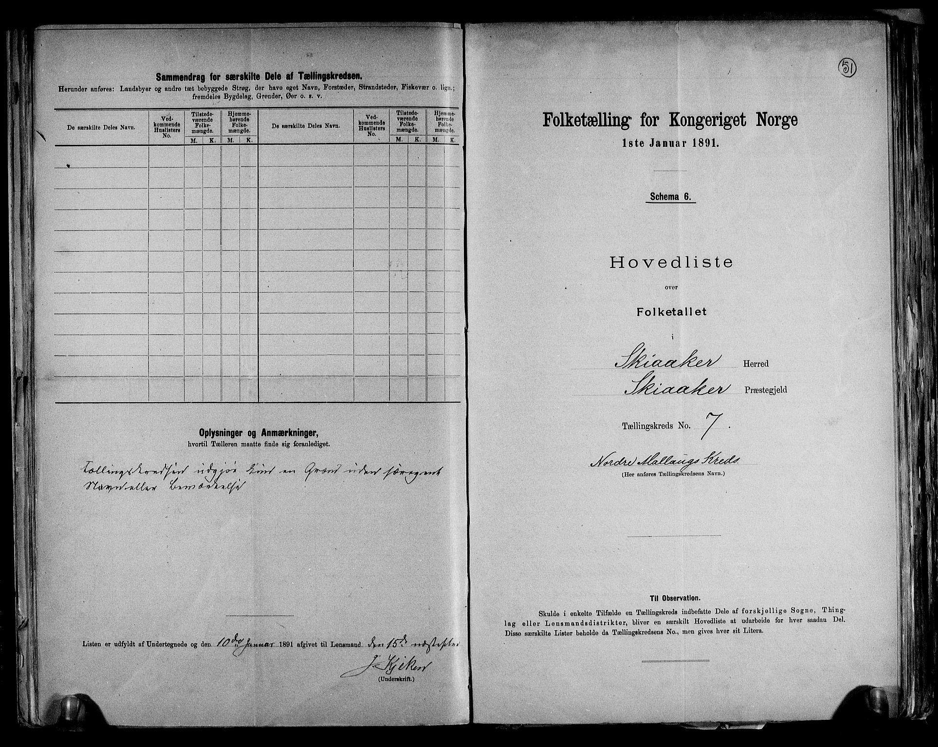 RA, Folketelling 1891 for 0513 Skjåk herred, 1891, s. 16
