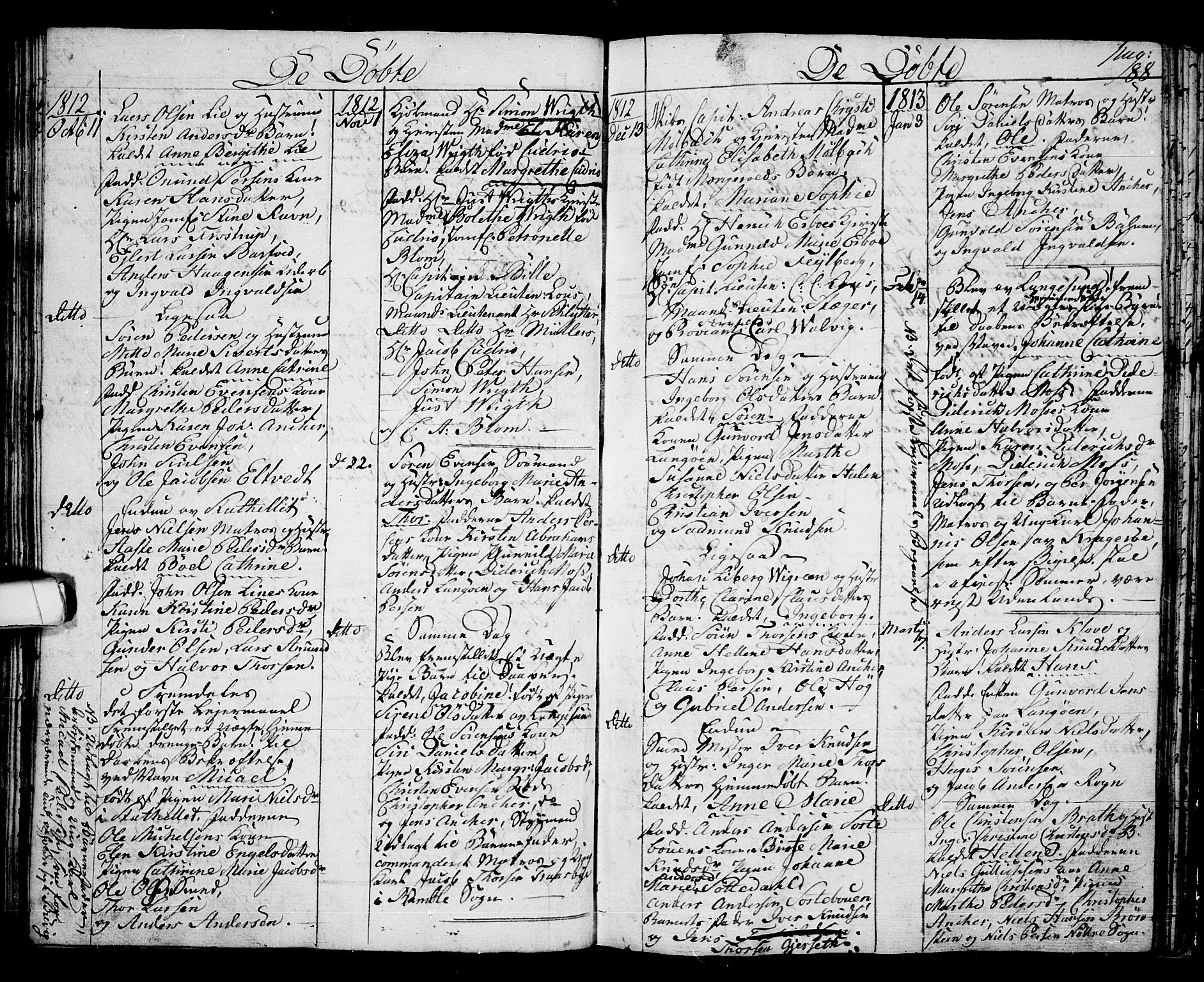 SAKO, Langesund kirkebøker, G/Ga/L0002: Klokkerbok nr. 2, 1801-1815, s. 88