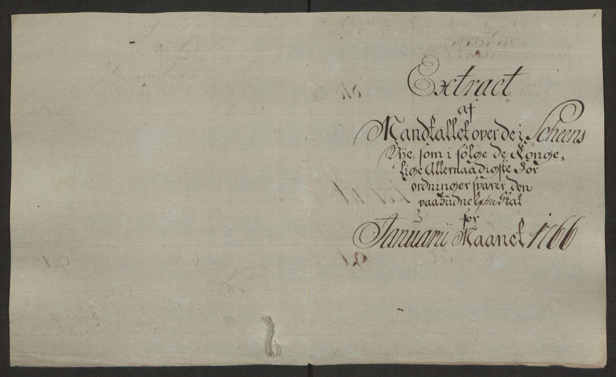 RA, Rentekammeret inntil 1814, Reviderte regnskaper, Byregnskaper, R/Rj/L0198: [J4] Kontribusjonsregnskap, 1762-1768, s. 391