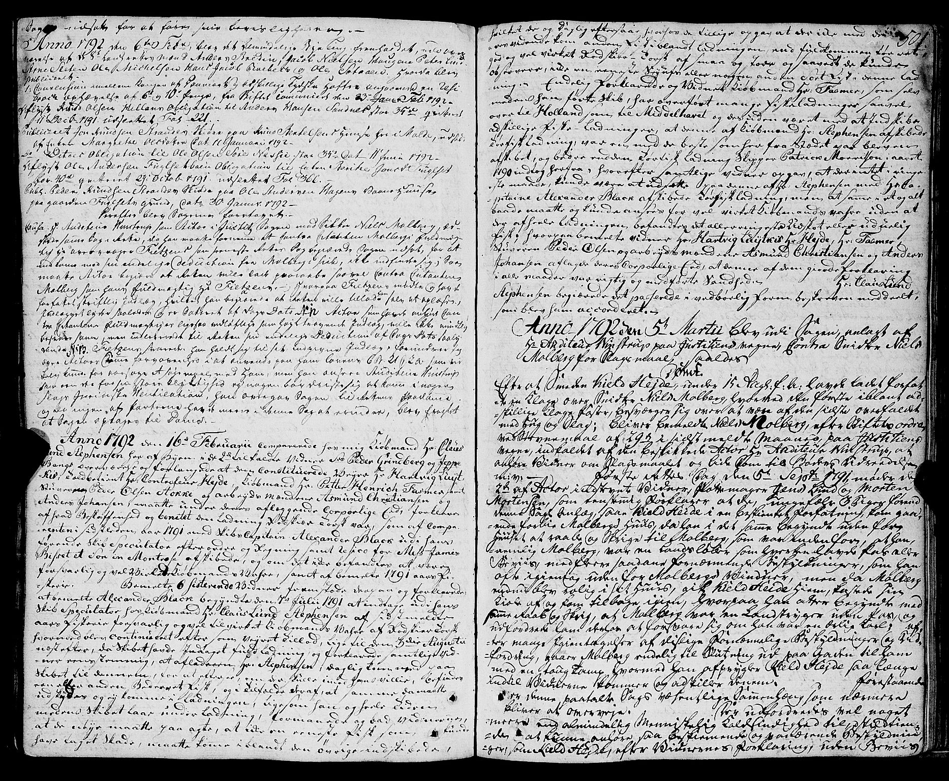 SAT, Molde byfogd, 1/1A/L0001: Justisprotokoll, 1764-1796, s. 502