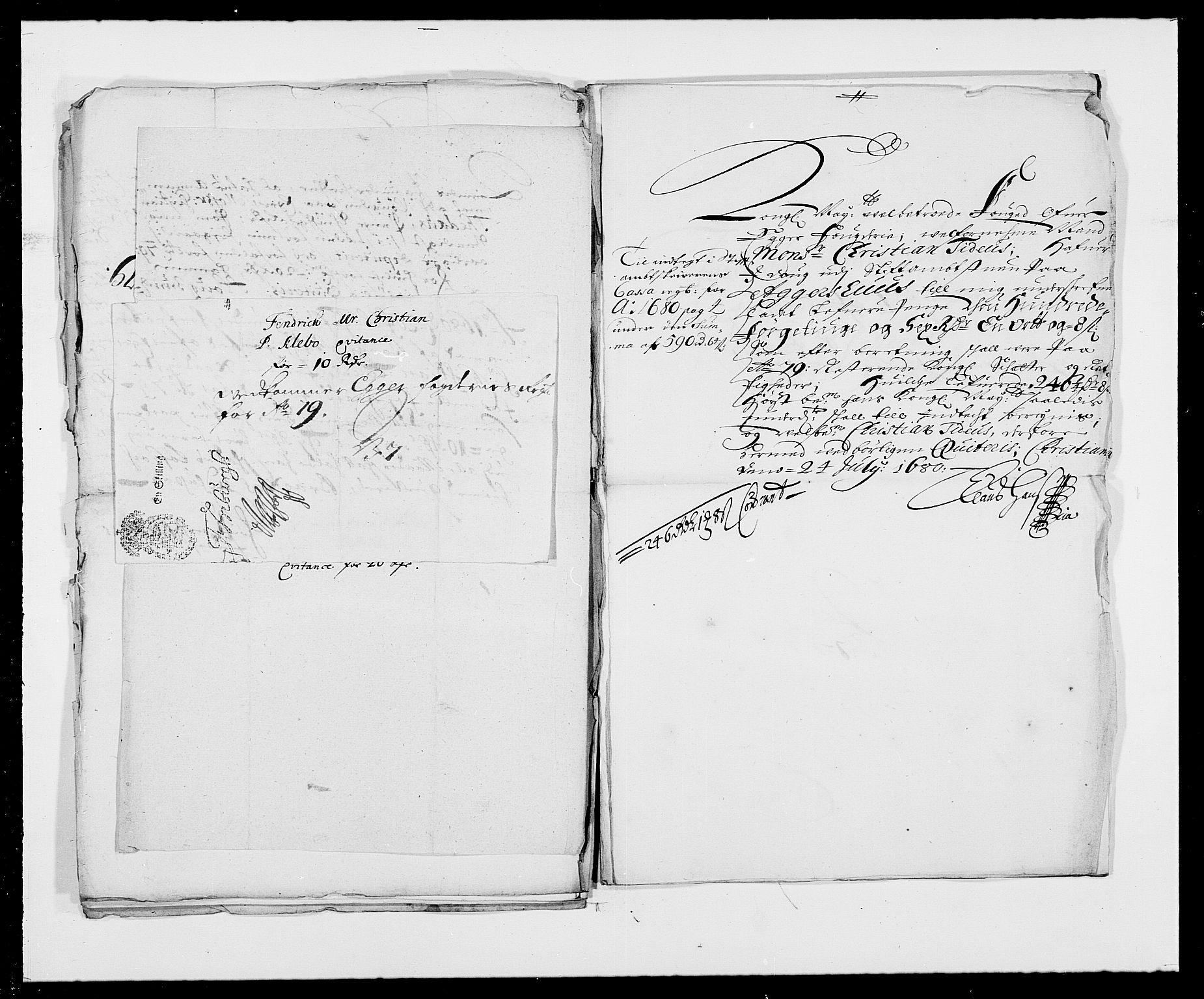 RA, Rentekammeret inntil 1814, Reviderte regnskaper, Fogderegnskap, R26/L1685: Fogderegnskap Eiker, 1679-1686, s. 226