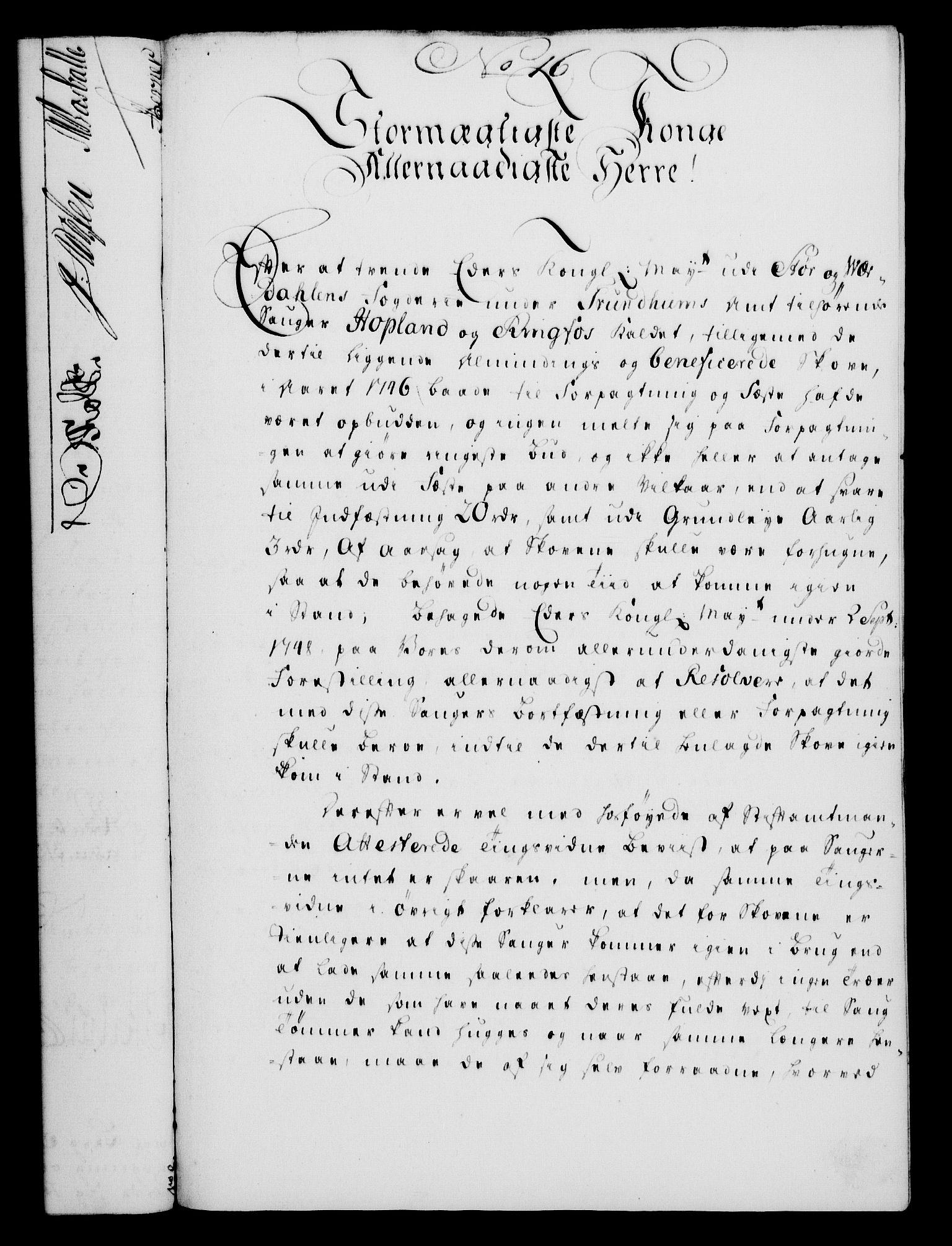 RA, Rentekammeret, Kammerkanselliet, G/Gf/Gfa/L0032: Norsk relasjons- og resolusjonsprotokoll (merket RK 52.32), 1750, s. 86