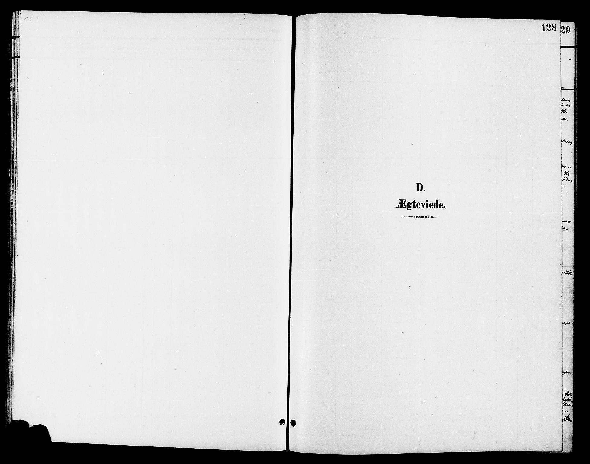 SAH, Jevnaker prestekontor, Klokkerbok nr. 3, 1896-1909, s. 128