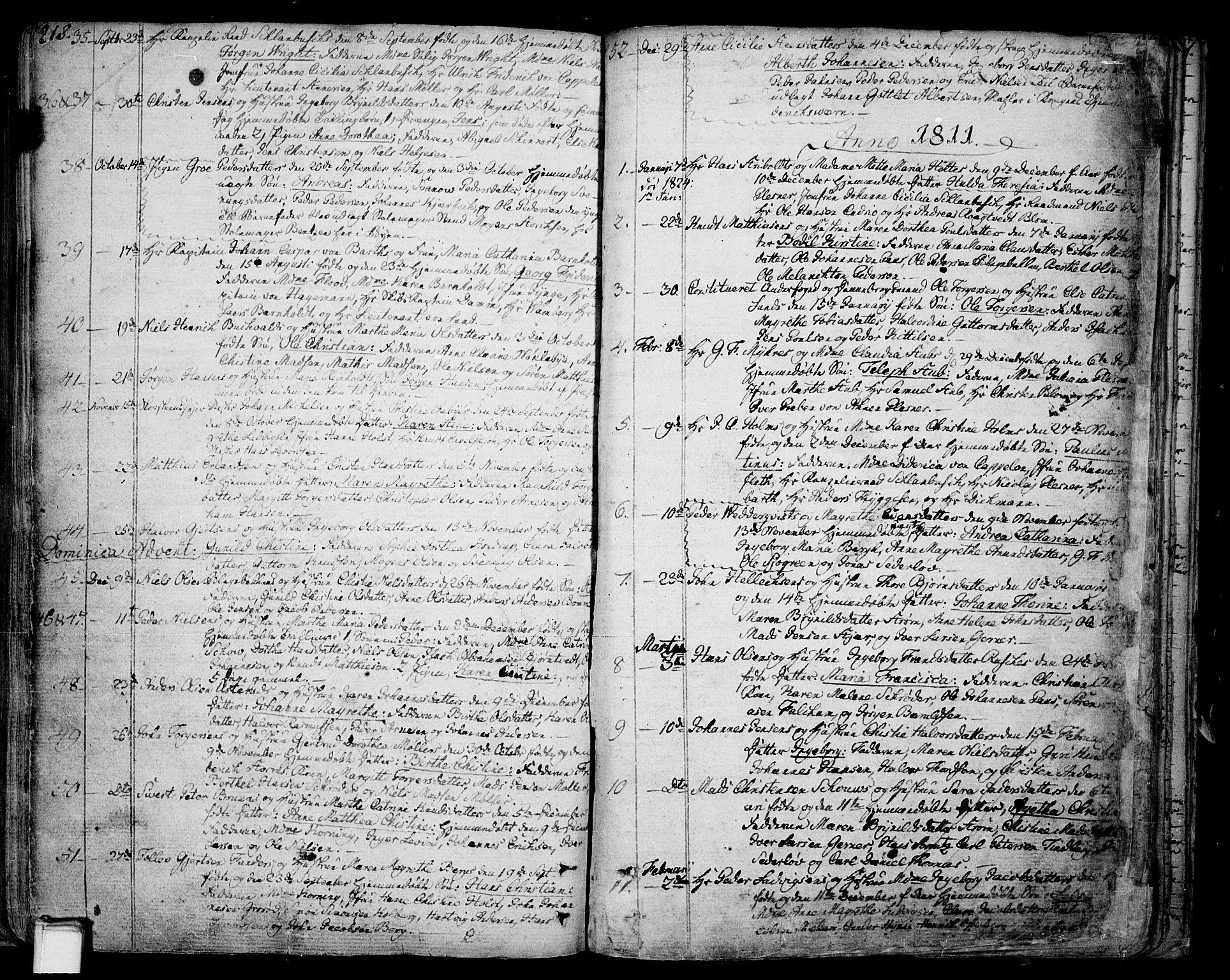 SAKO, Skien kirkebøker, F/Fa/L0004: Ministerialbok nr. 4, 1792-1814, s. 218-219