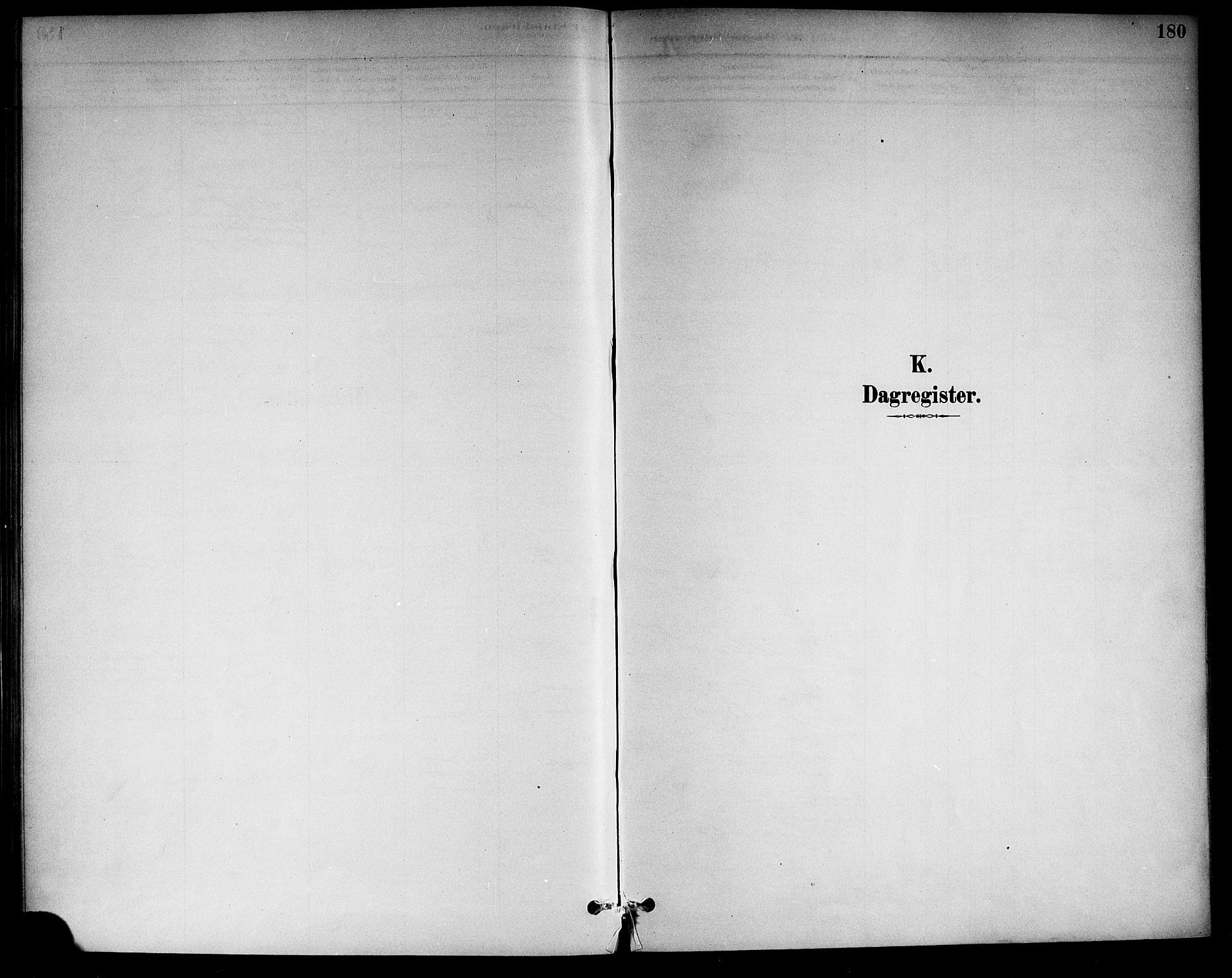 SAKO, Drangedal kirkebøker, F/Fa/L0011: Ministerialbok nr. 11 /1, 1885-1894, s. 180