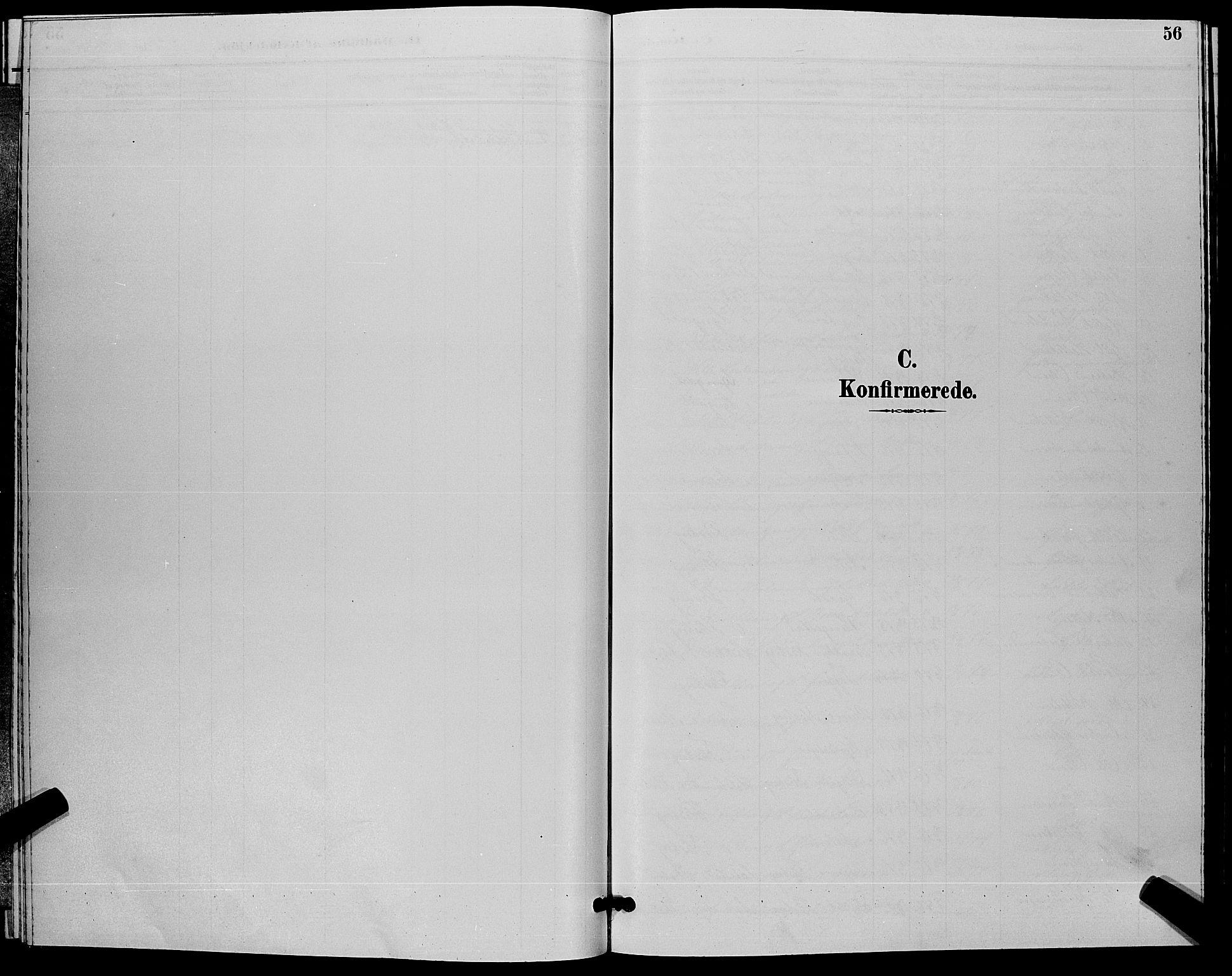 SAKO, Flesberg kirkebøker, G/Ga/L0004: Klokkerbok nr. I 4 /1, 1890-1898, s. 56