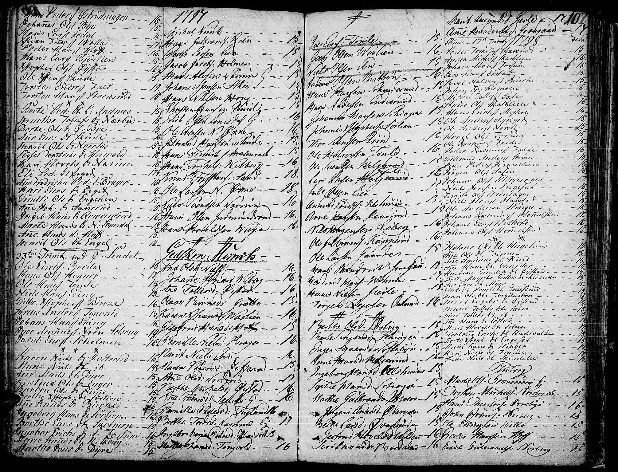 SAH, Land prestekontor, Ministerialbok nr. 6, 1784-1813, s. 107