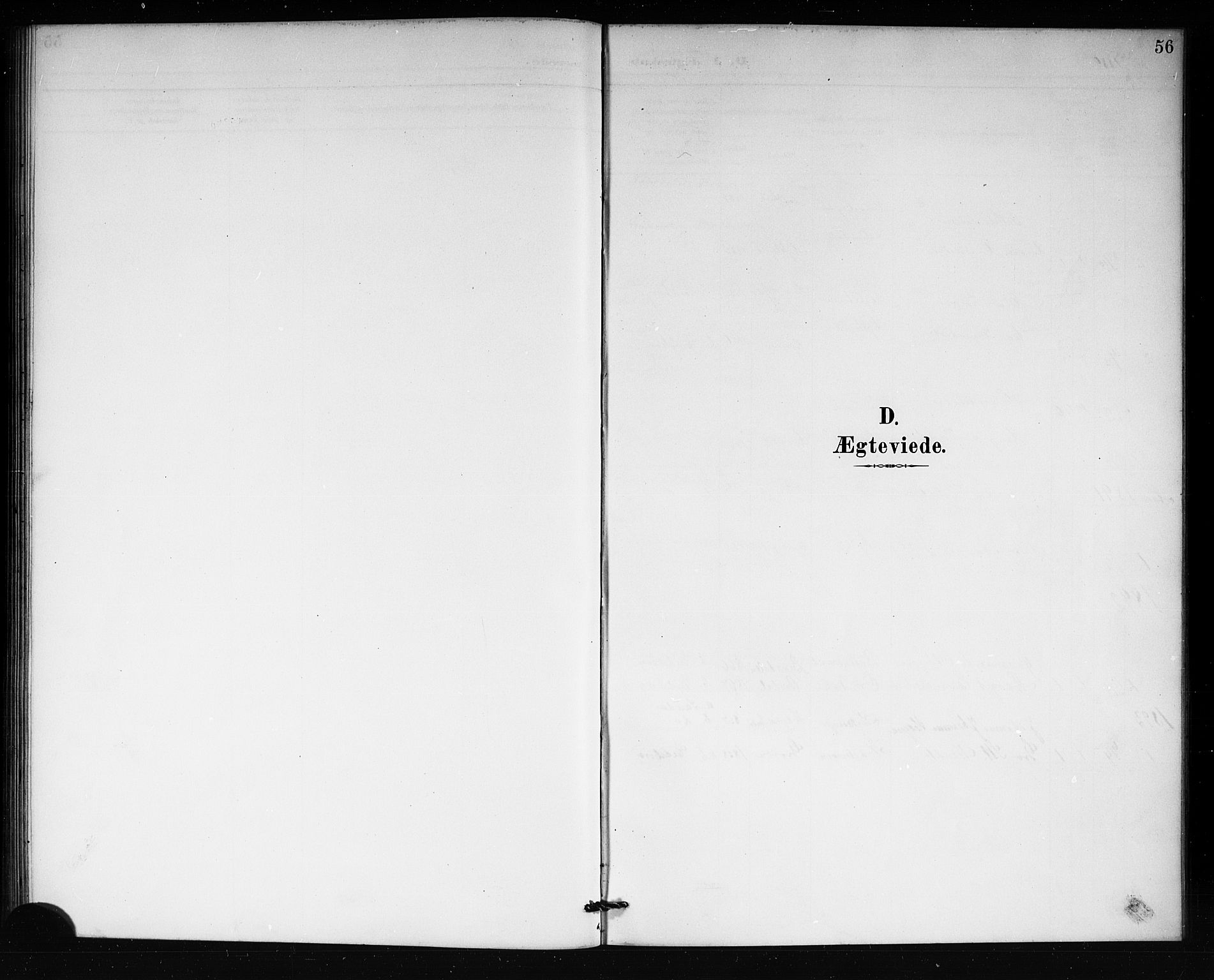SAKO, Lårdal kirkebøker, G/Gb/L0003: Klokkerbok nr. II 3, 1889-1920, s. 56