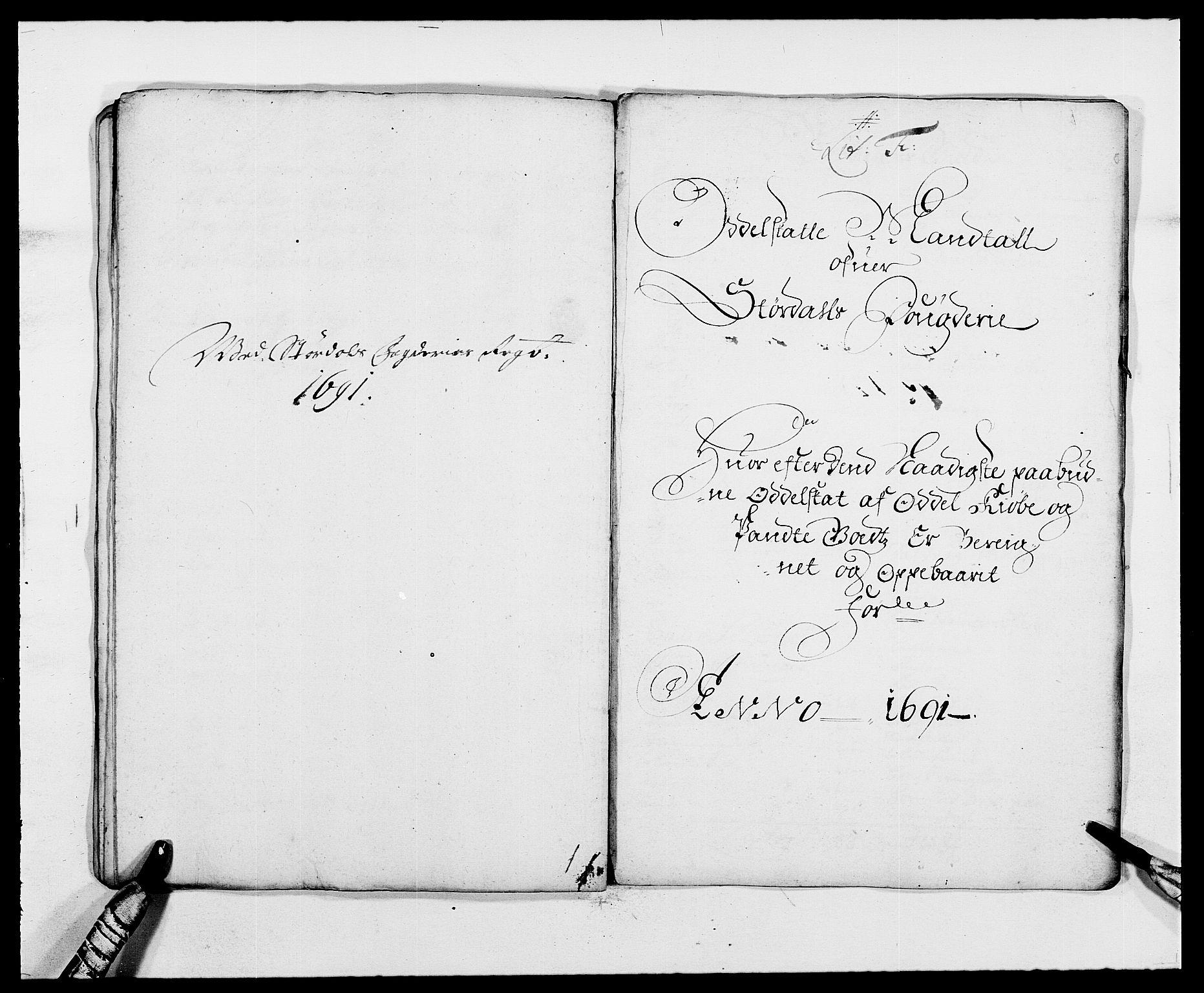 RA, Rentekammeret inntil 1814, Reviderte regnskaper, Fogderegnskap, R62/L4184: Fogderegnskap Stjørdal og Verdal, 1690-1691, s. 322