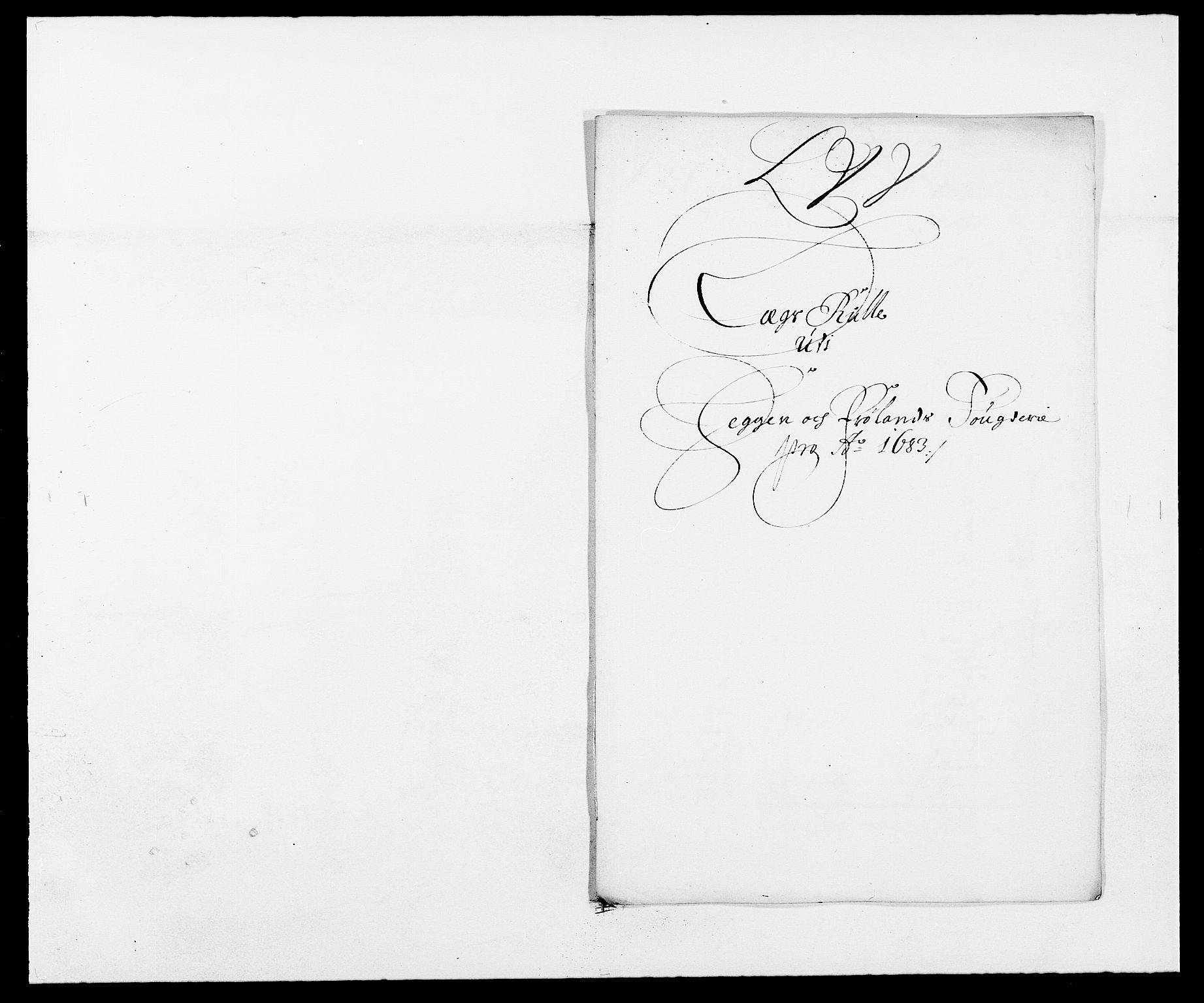RA, Rentekammeret inntil 1814, Reviderte regnskaper, Fogderegnskap, R06/L0280: Fogderegnskap Heggen og Frøland, 1681-1684, s. 393