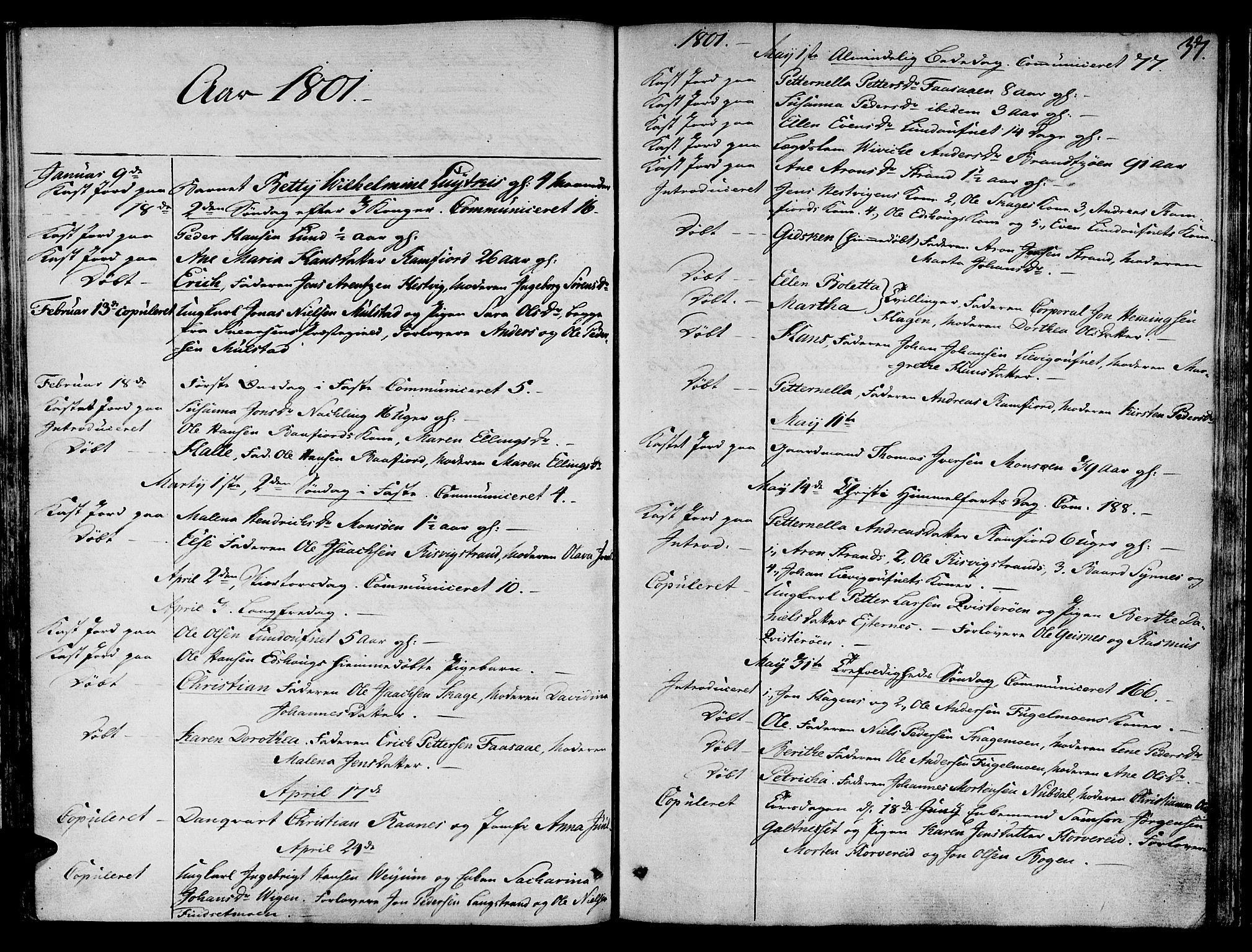SAT, Ministerialprotokoller, klokkerbøker og fødselsregistre - Nord-Trøndelag, 780/L0633: Ministerialbok nr. 780A02 /1, 1787-1814, s. 37