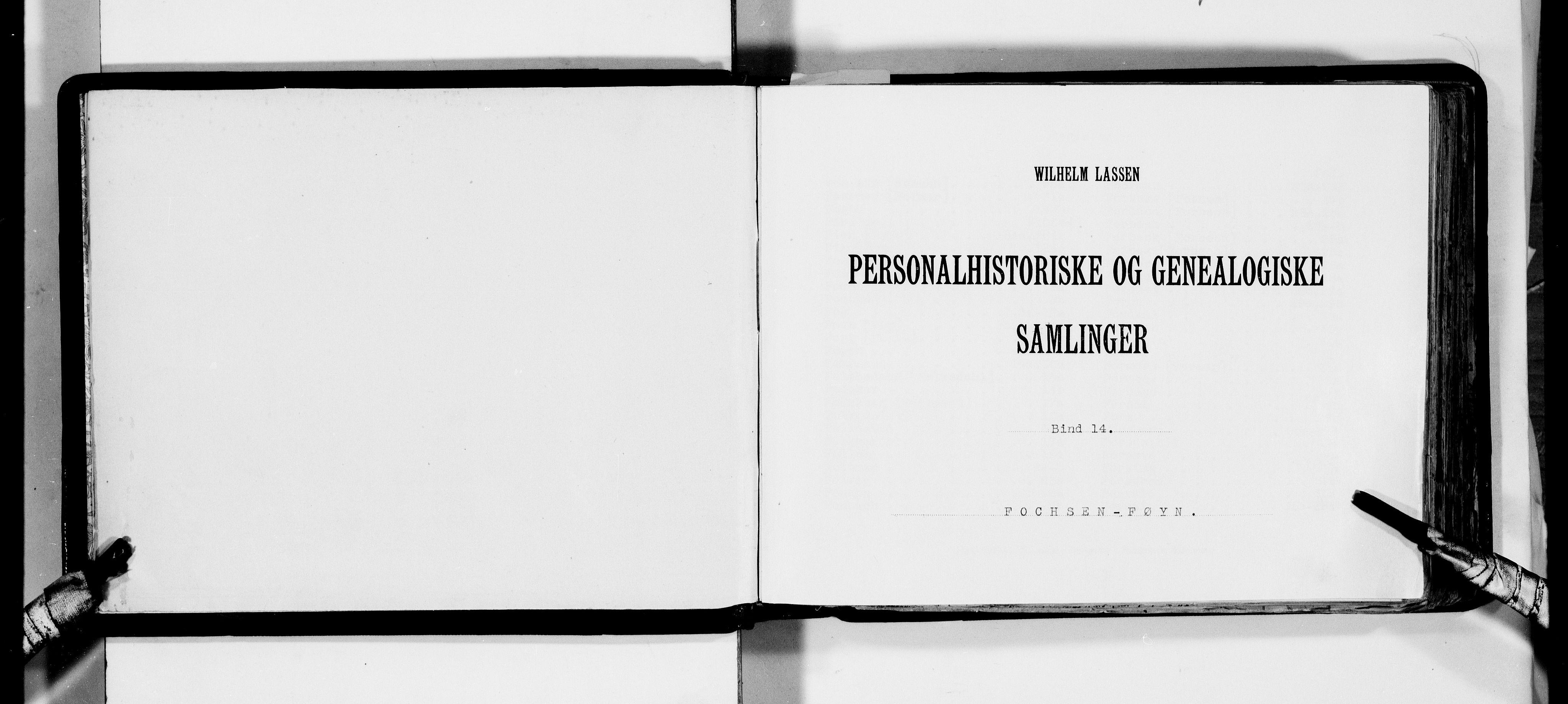 RA, Lassens samlinger, F/Fa, s. upaginert
