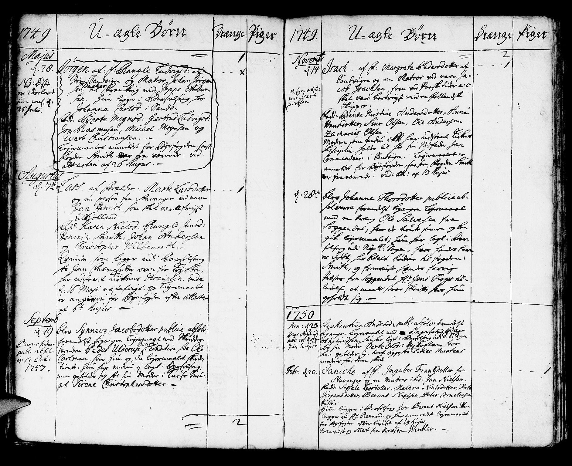 SAB, Korskirken Sokneprestembete, H/Haa/L0004: Ministerialbok nr. A 4, 1720-1750, s. 301