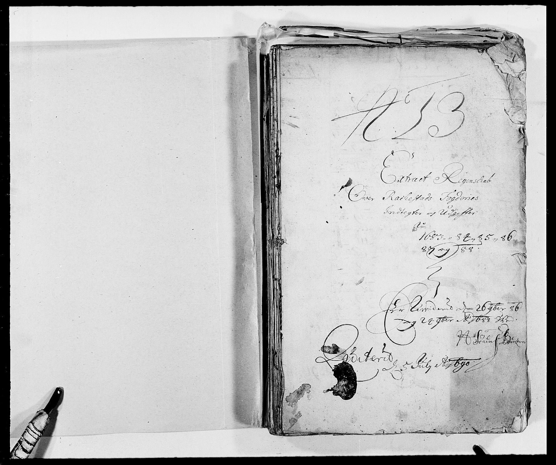 RA, Rentekammeret inntil 1814, Reviderte regnskaper, Fogderegnskap, R05/L0276: Fogderegnskap Rakkestad, 1683-1688, s. 248