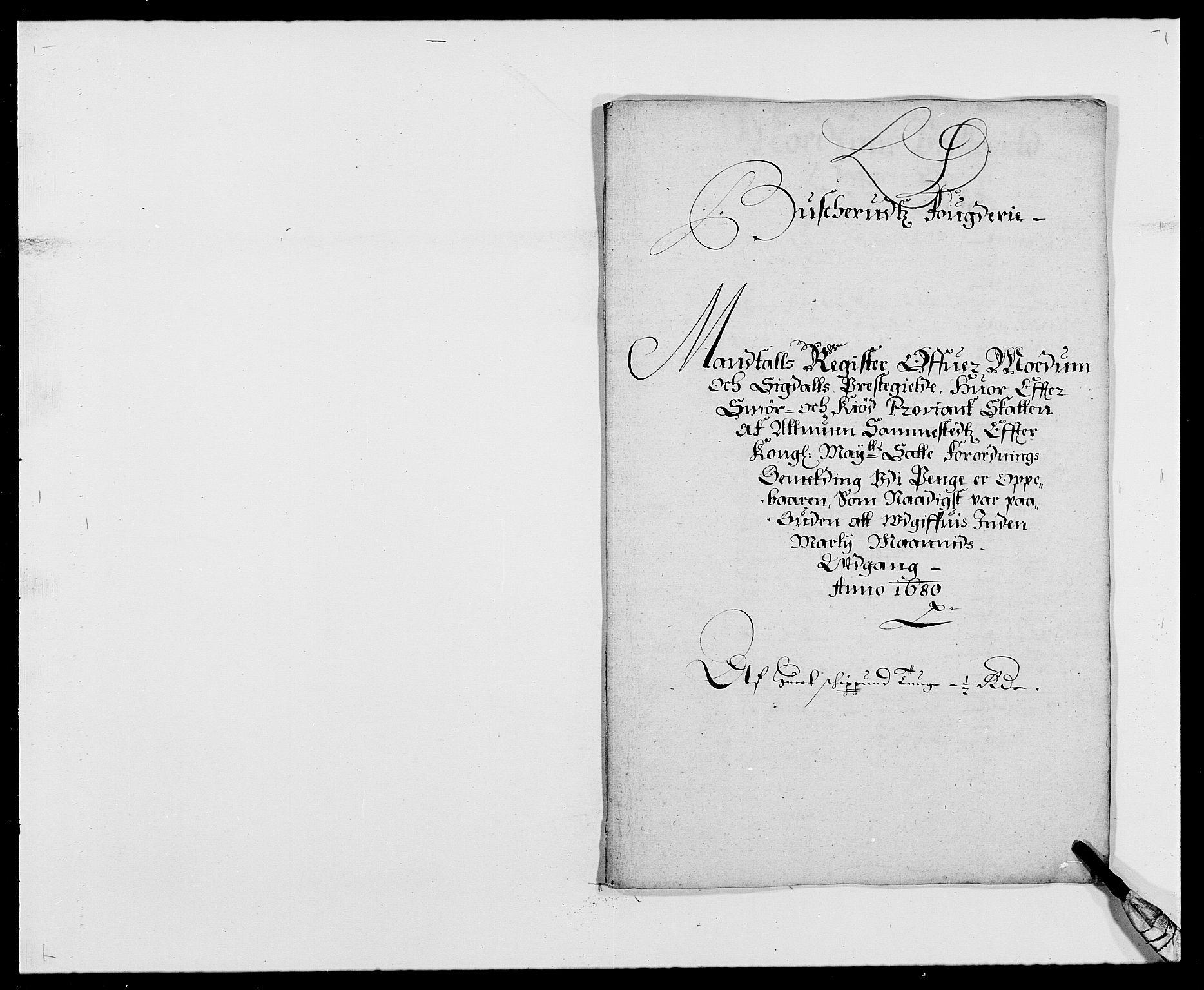 RA, Rentekammeret inntil 1814, Reviderte regnskaper, Fogderegnskap, R25/L1675: Fogderegnskap Buskerud, 1678-1681, s. 106