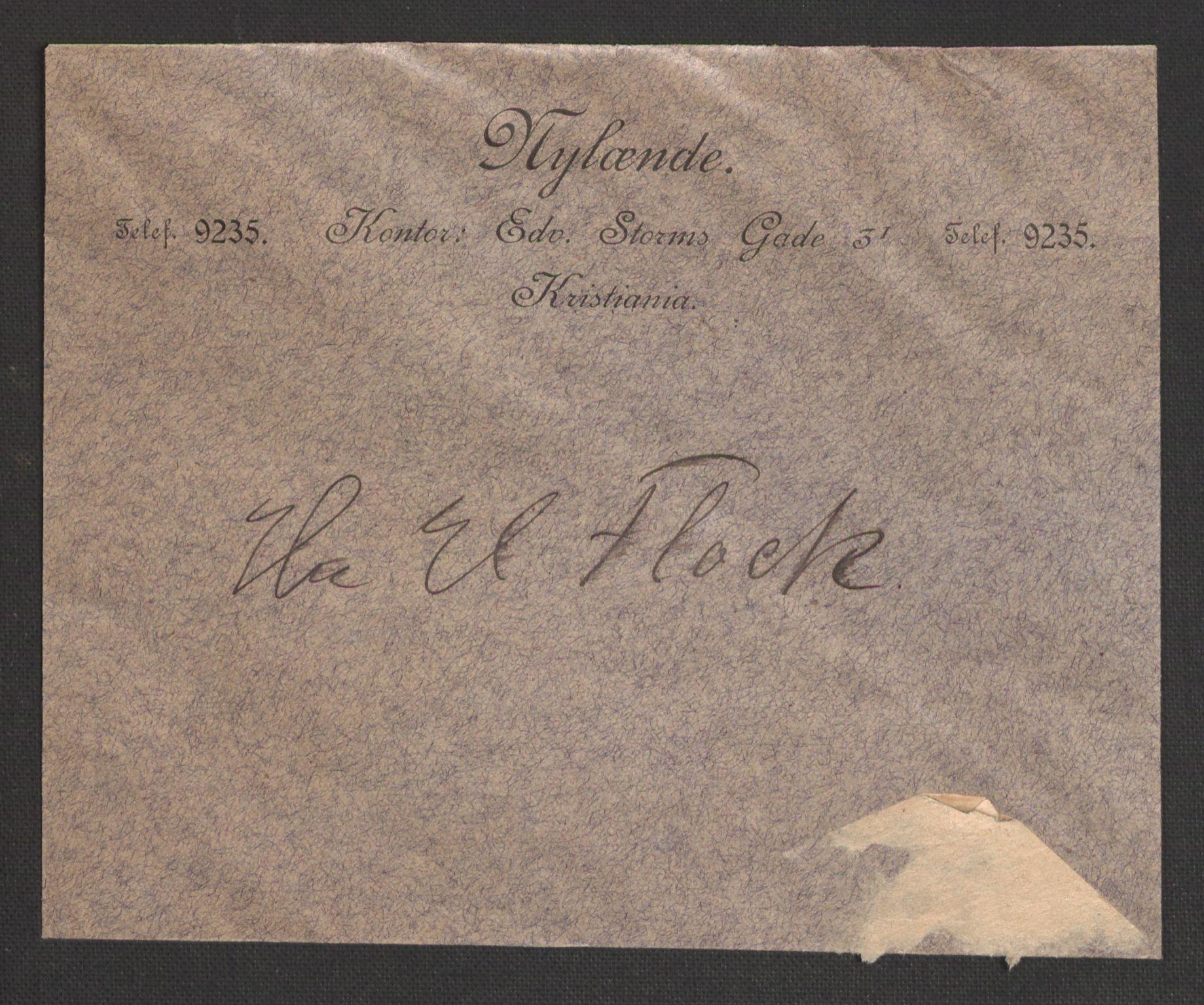 RA, Justisdepartementet, 2. sivilkontor C, F/L0125B: Folkeavstemmingen august 1905, 1905, s. 103