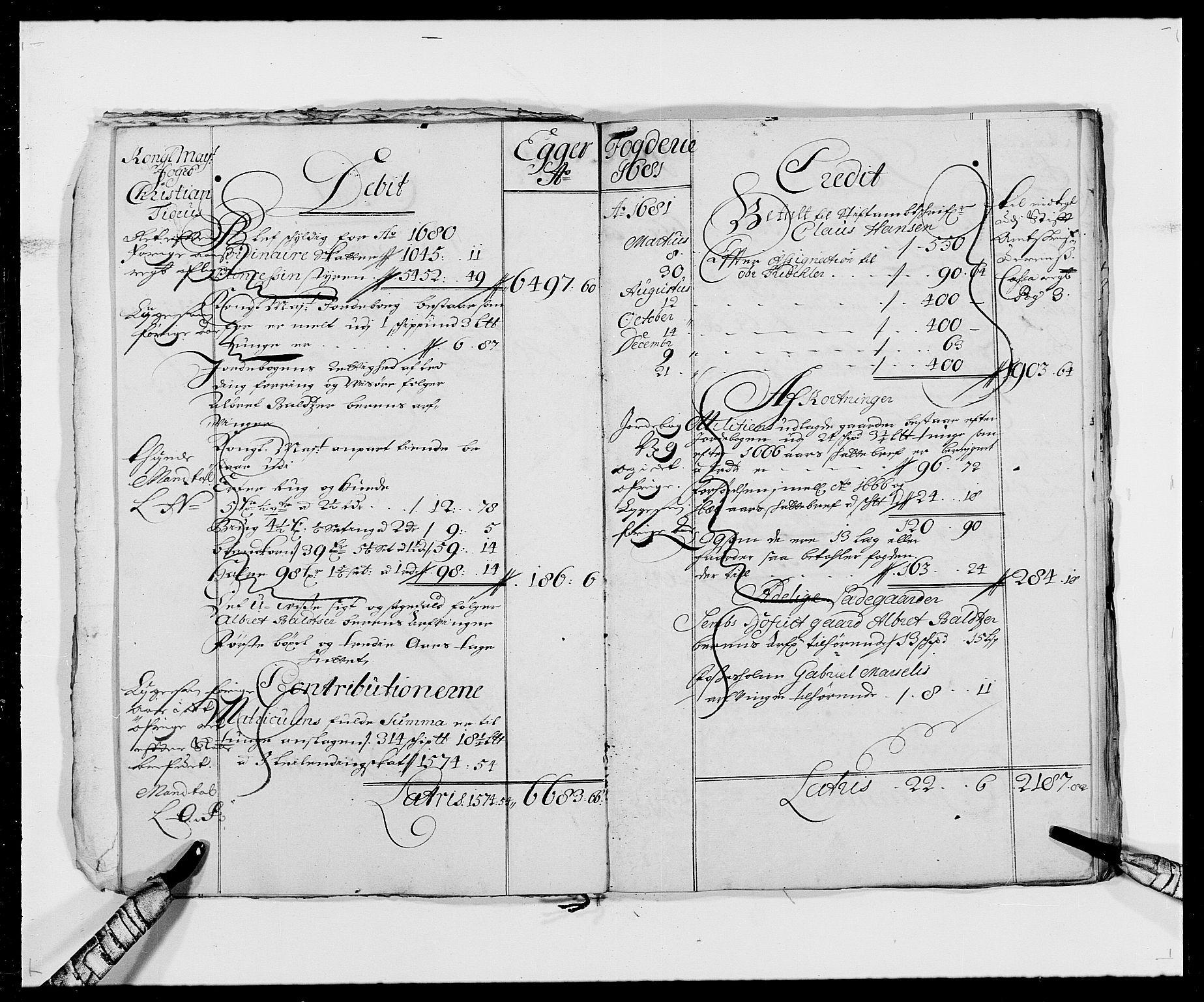 RA, Rentekammeret inntil 1814, Reviderte regnskaper, Fogderegnskap, R26/L1684: Fogderegnskap Eiker, 1679-1686, s. 13