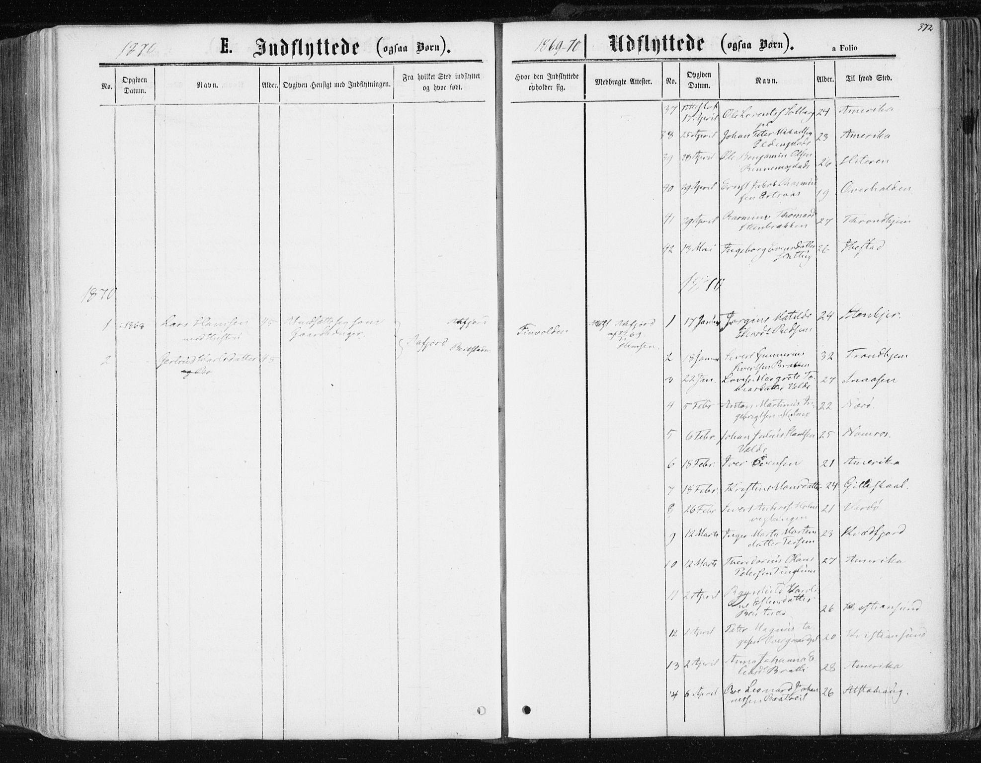 SAT, Ministerialprotokoller, klokkerbøker og fødselsregistre - Nord-Trøndelag, 741/L0394: Ministerialbok nr. 741A08, 1864-1877, s. 372