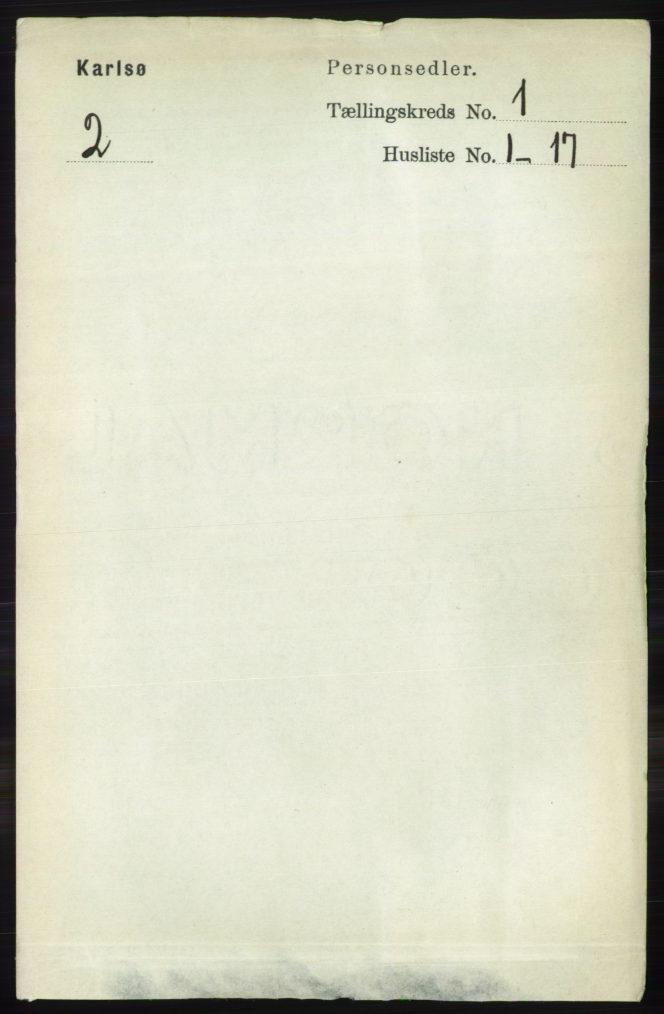 RA, Folketelling 1891 for 1936 Karlsøy herred, 1891, s. 58