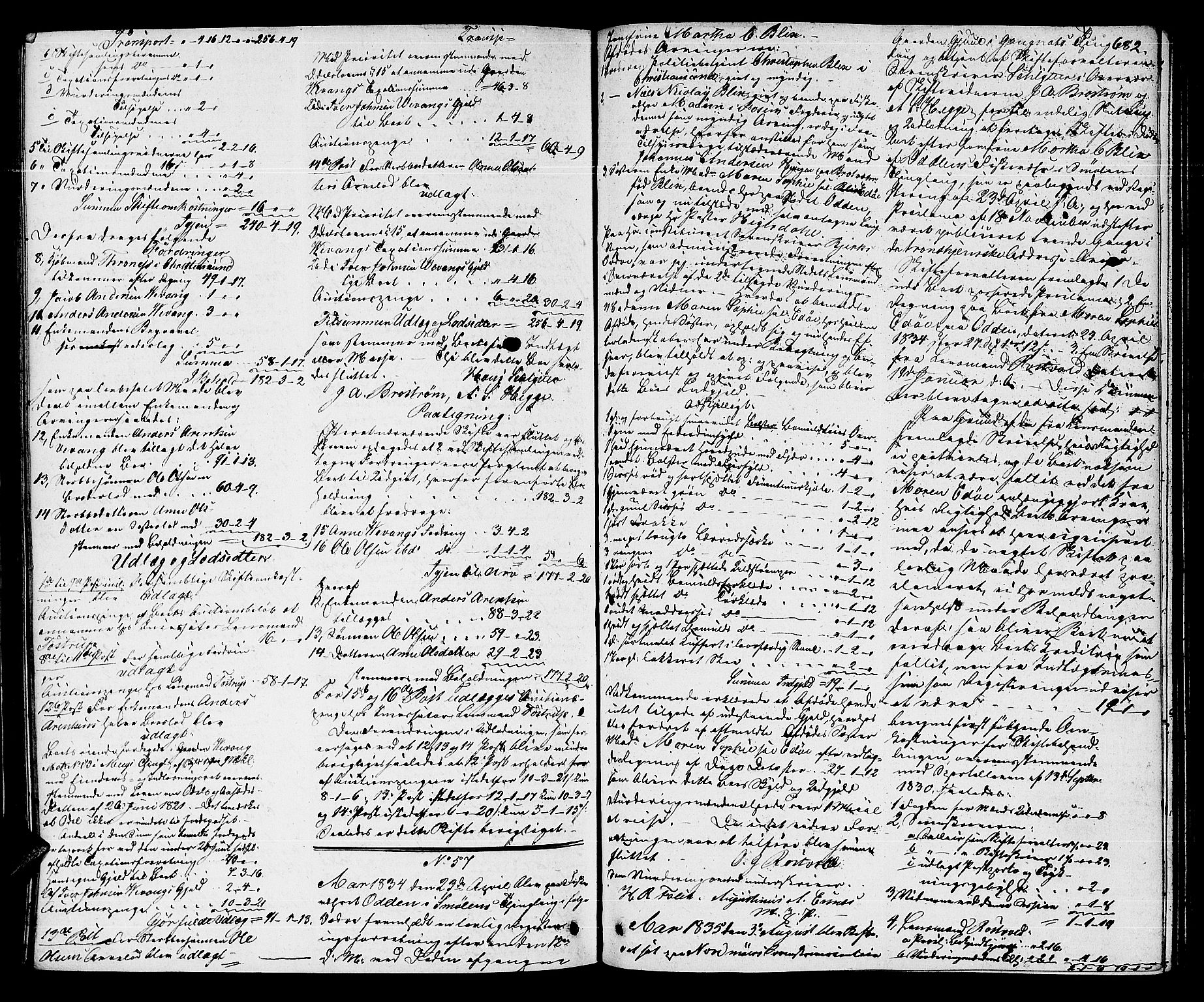 SAT, Nordmøre sorenskriveri, 3/3A/L0028: Skifteprotokoll nr. 26, 1830-1835, s. 681b-682a