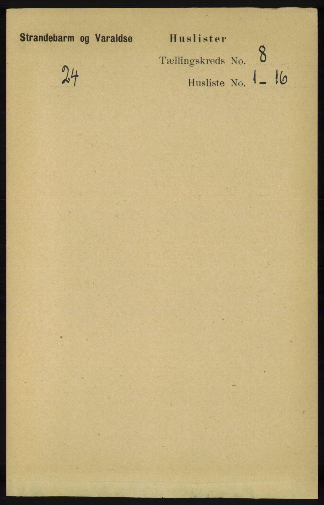 RA, Folketelling 1891 for 1226 Strandebarm og Varaldsøy herred, 1891, s. 2933