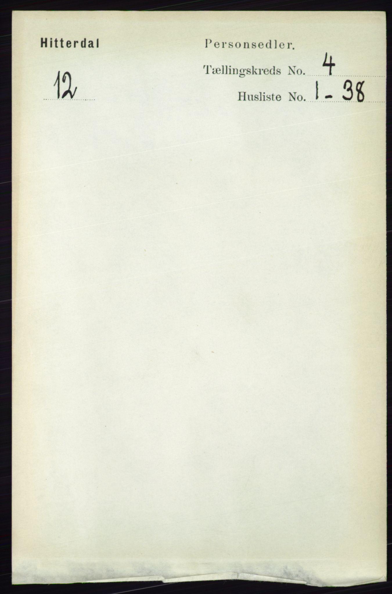 RA, Folketelling 1891 for 0823 Heddal herred, 1891, s. 1671