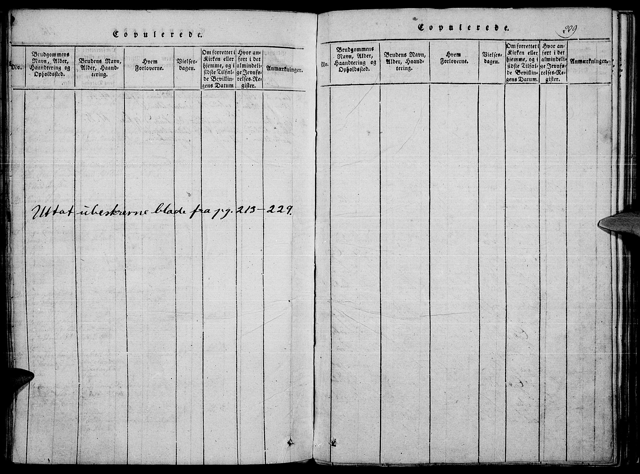 SAH, Toten prestekontor, Ministerialbok nr. 10, 1820-1828, s. 229