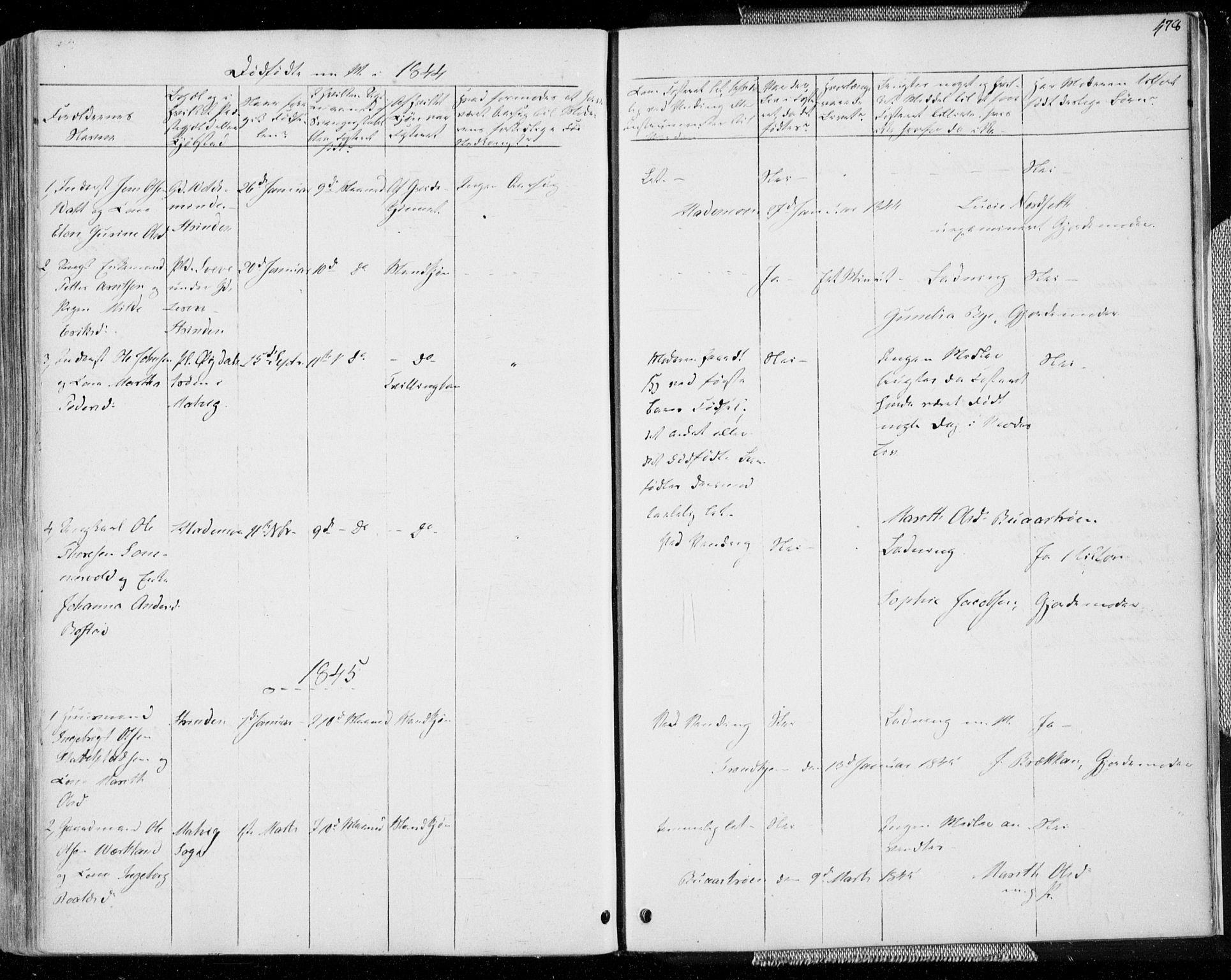 SAT, Ministerialprotokoller, klokkerbøker og fødselsregistre - Sør-Trøndelag, 606/L0290: Ministerialbok nr. 606A05, 1841-1847, s. 478
