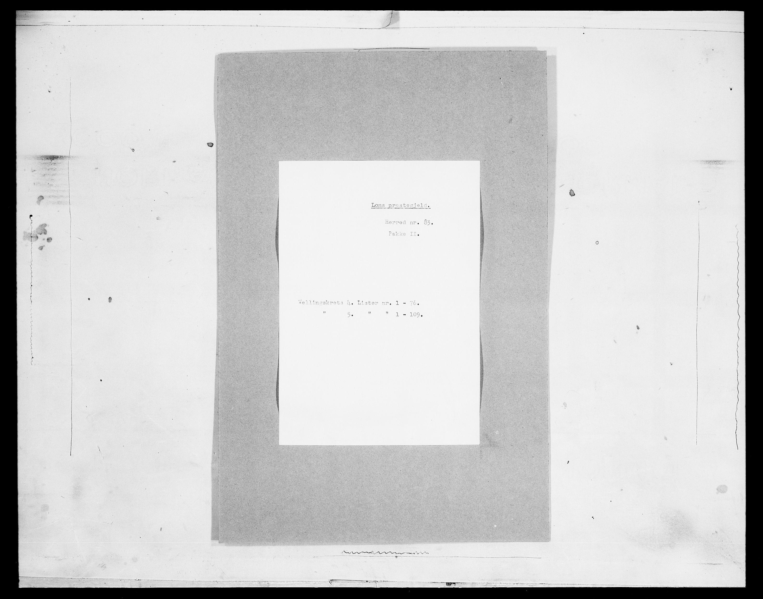 SAH, Folketelling 1875 for 0514P Lom prestegjeld, 1875, s. 586