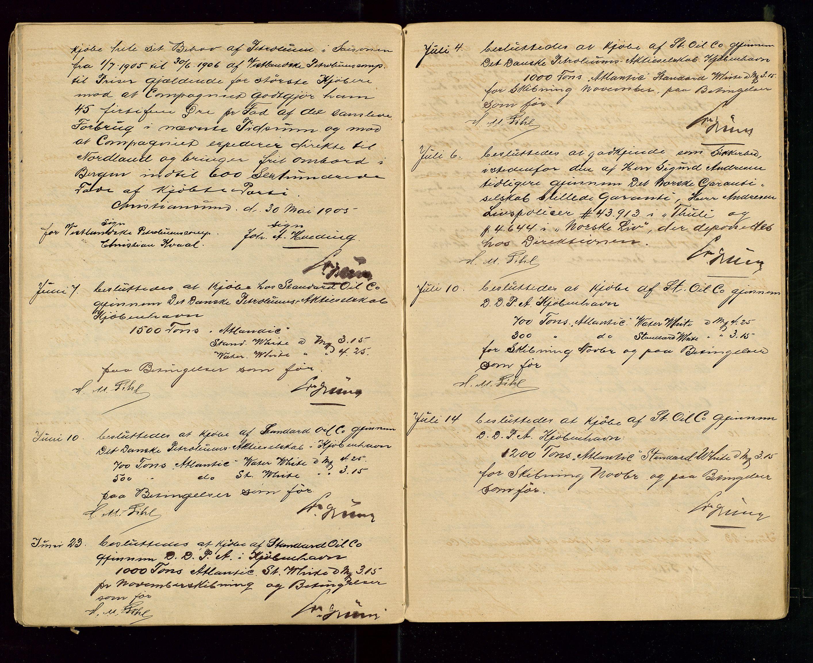 SAST, PA 1533 - A/S Vestlandske Petroleumscompani, A/Aa/L0001: Generalforsamlinger og styreprotokoller, 1890-1907, s. 58