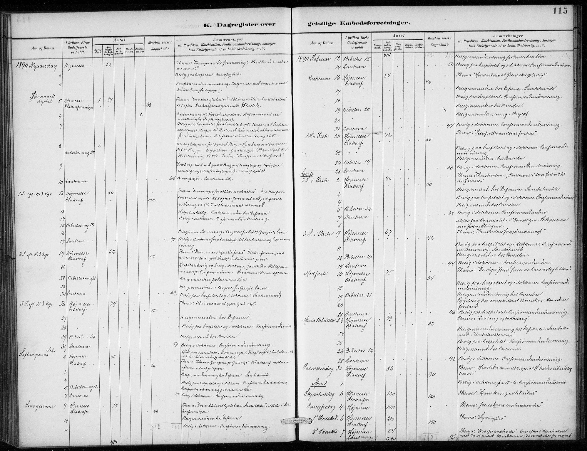 SAB, Den Norske Sjømannsmisjon i utlandet*, Ministerialbok nr. A 2, 1887-1913, s. 115