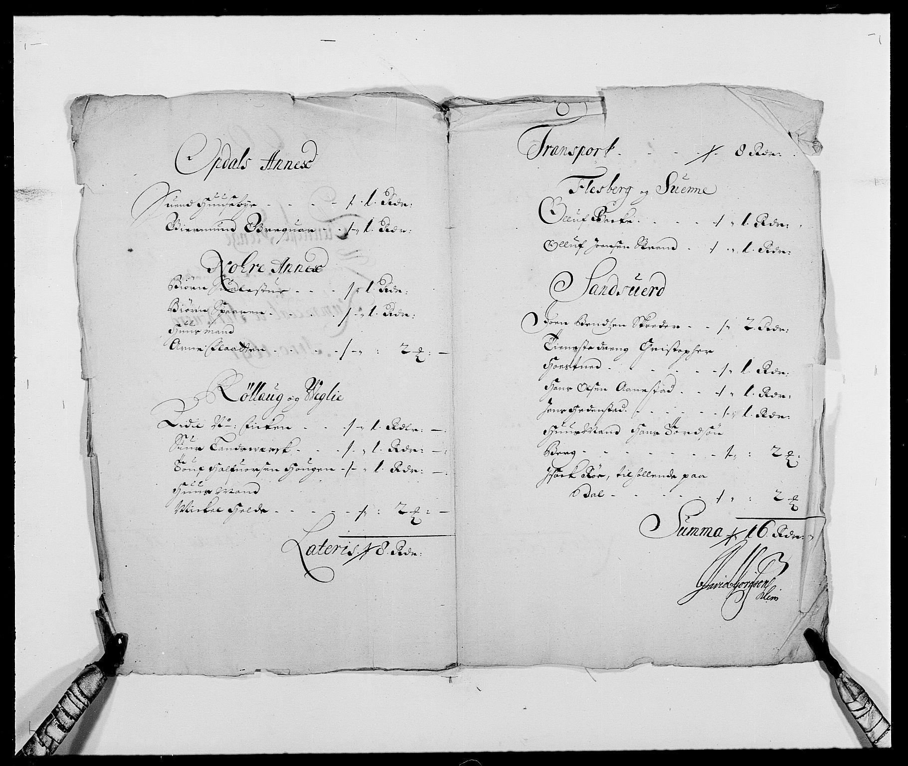 RA, Rentekammeret inntil 1814, Reviderte regnskaper, Fogderegnskap, R24/L1573: Fogderegnskap Numedal og Sandsvær, 1687-1691, s. 515
