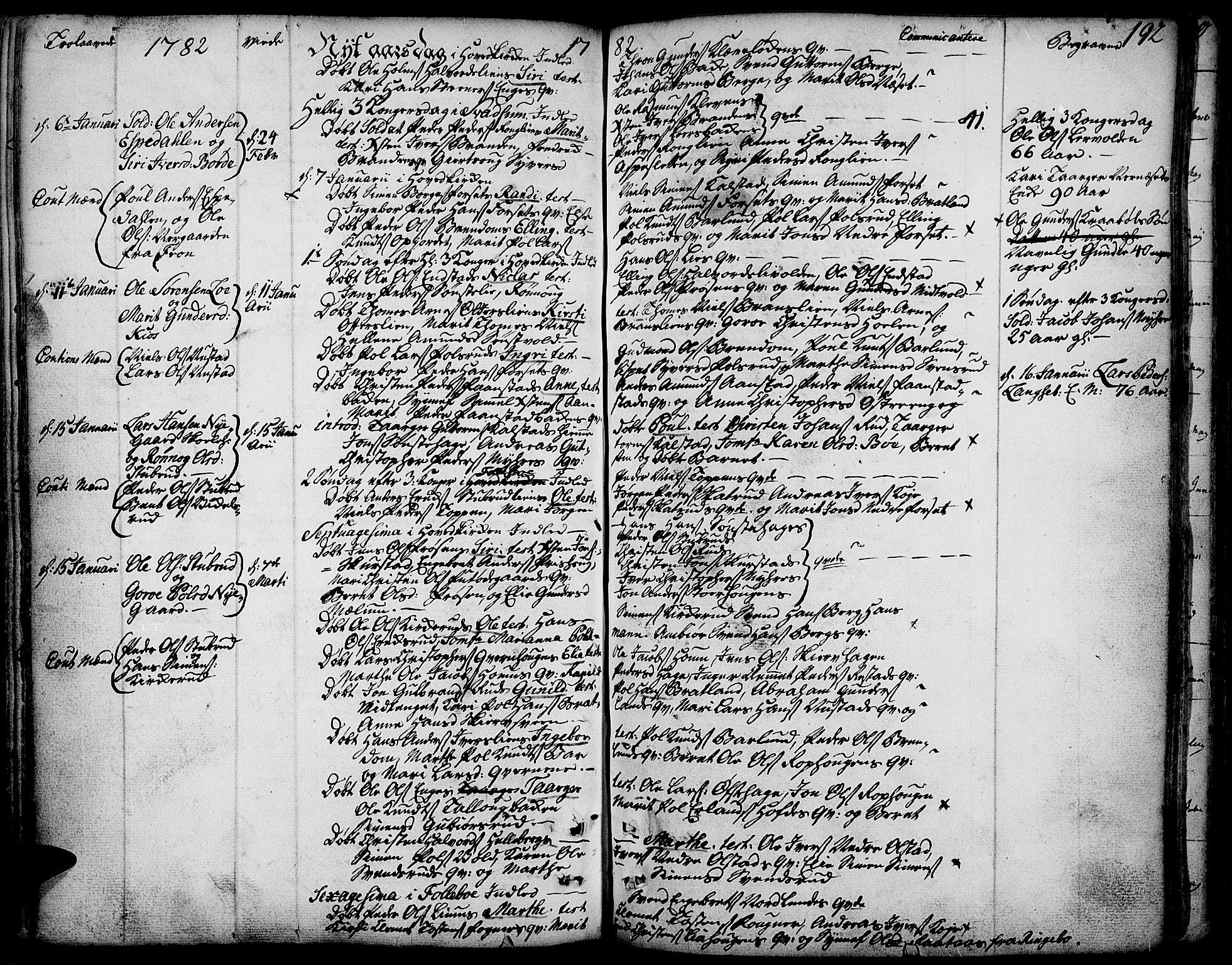 SAH, Gausdal prestekontor, Ministerialbok nr. 3, 1758-1809, s. 192