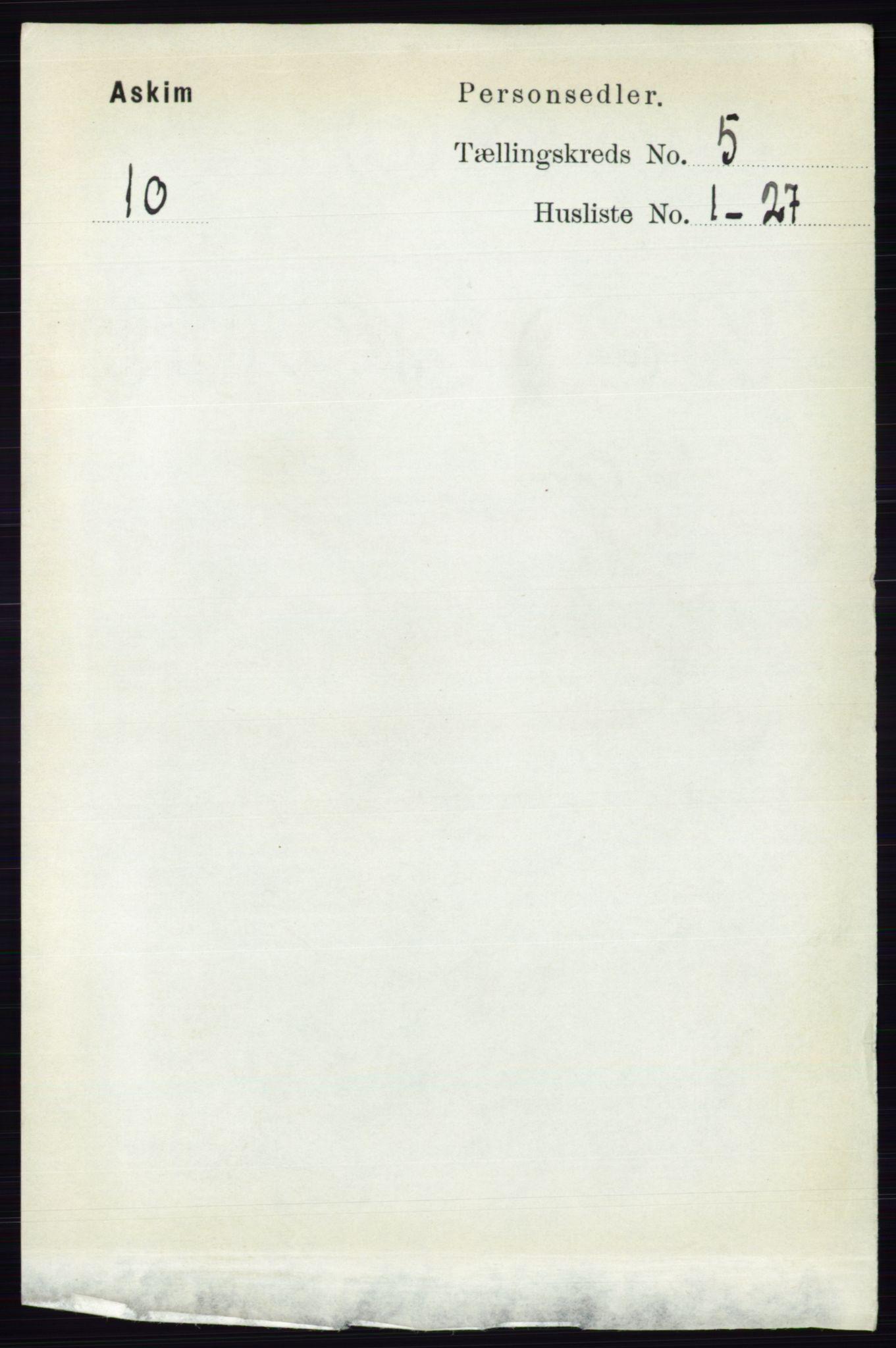 RA, Folketelling 1891 for 0124 Askim herred, 1891, s. 602