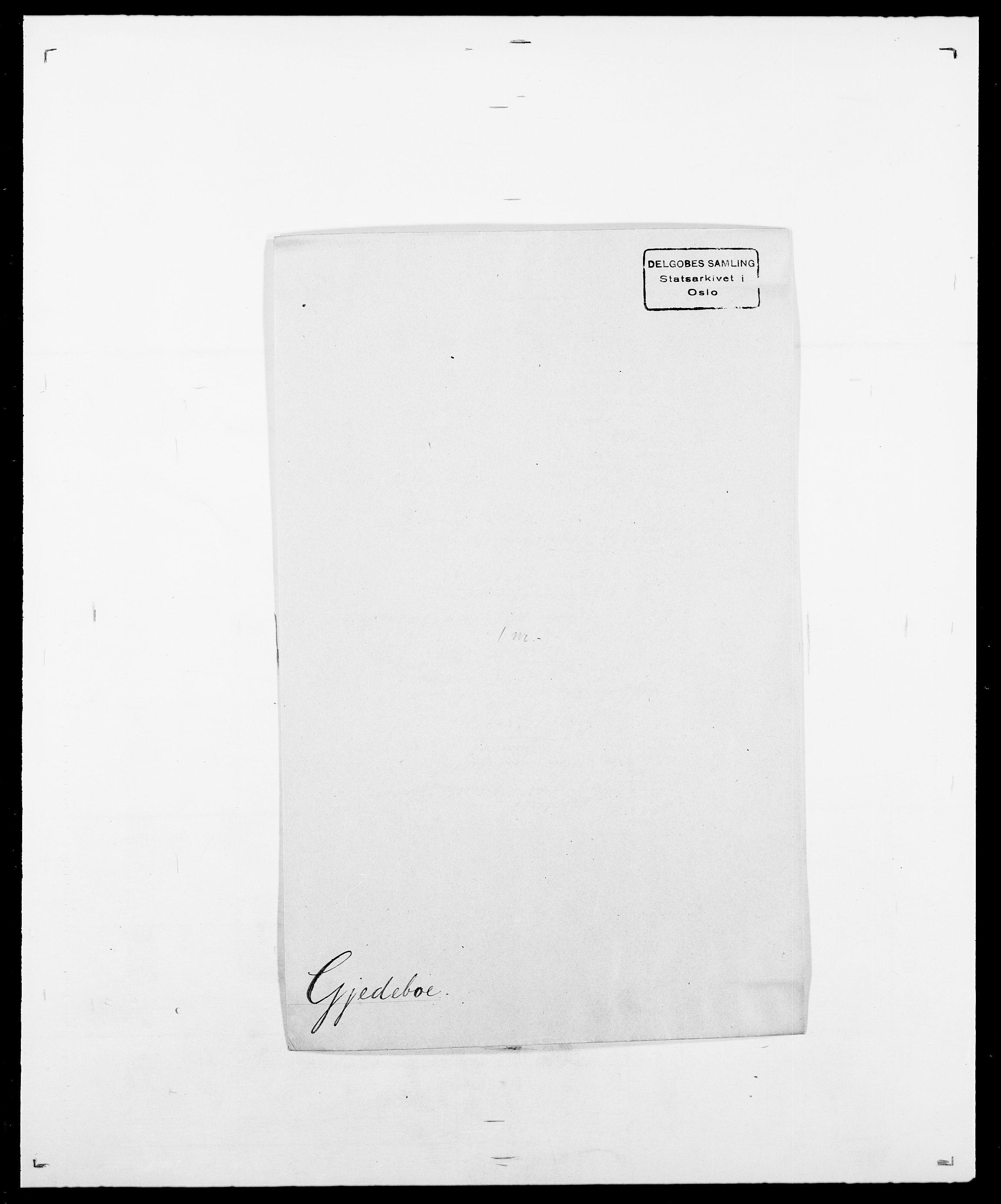 SAO, Delgobe, Charles Antoine - samling, D/Da/L0014: Giebdhausen - Grip, s. 92