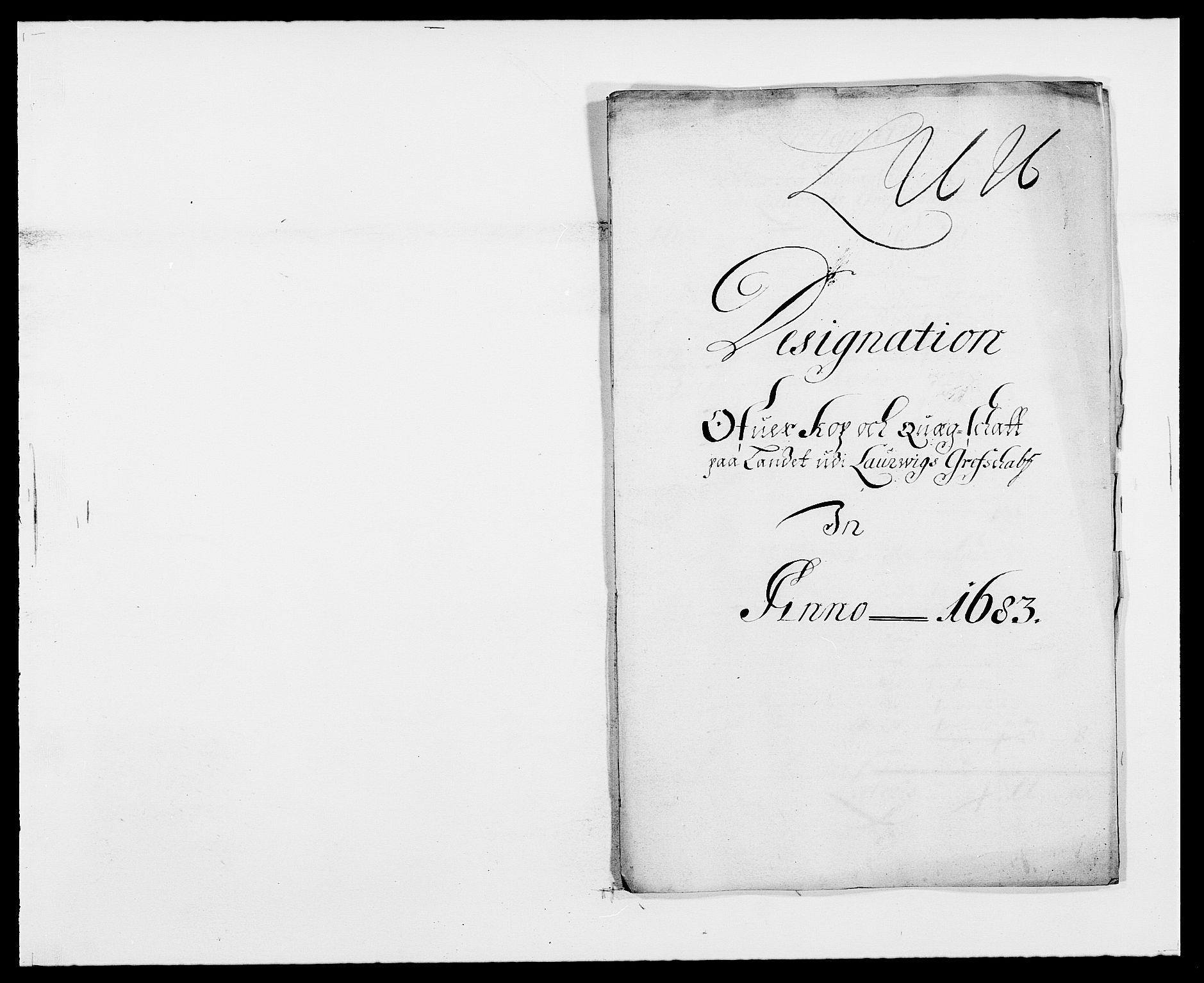 RA, Rentekammeret inntil 1814, Reviderte regnskaper, Fogderegnskap, R33/L1969: Fogderegnskap Larvik grevskap, 1675-1687, s. 301