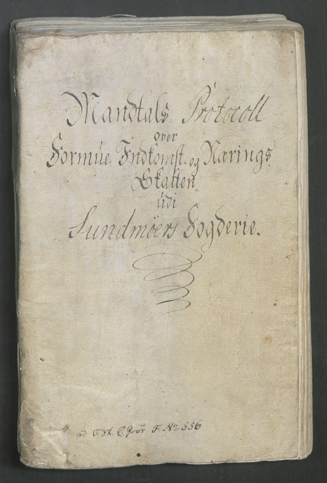 RA, Rentekammeret inntil 1814, Reviderte regnskaper, Mindre regnskaper, Rf/Rfe/L0050: Sunnmøre fogderi, Toten fogderi, 1789, s. 3