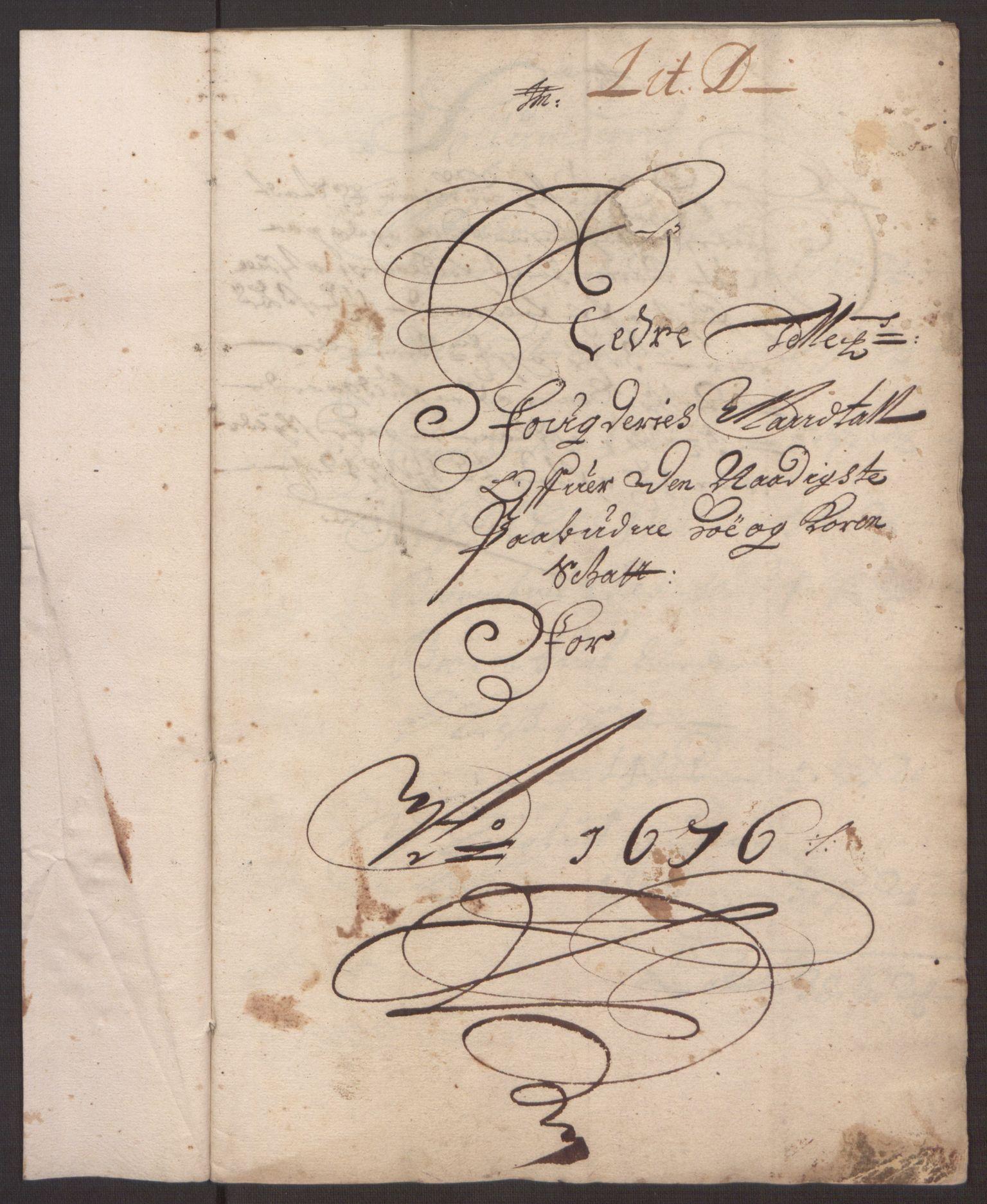RA, Rentekammeret inntil 1814, Reviderte regnskaper, Fogderegnskap, R35/L2066: Fogderegnskap Øvre og Nedre Telemark, 1676, s. 60