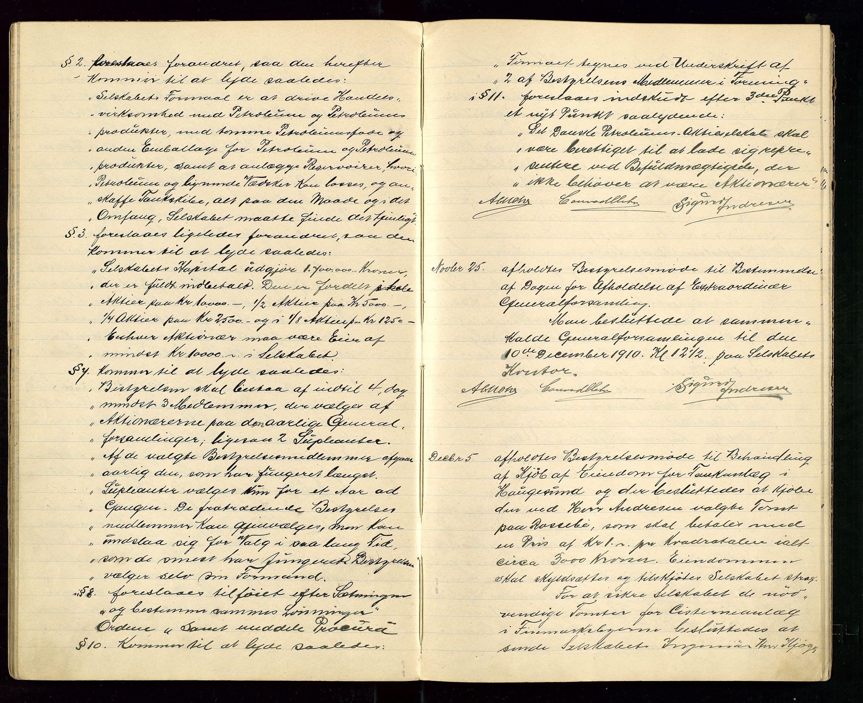 SAST, PA 1533 - A/S Vestlandske Petroleumscompani, A/Aa/L0001: Generalforsamlinger og styreprotokoller, 1907-1915, s. 37