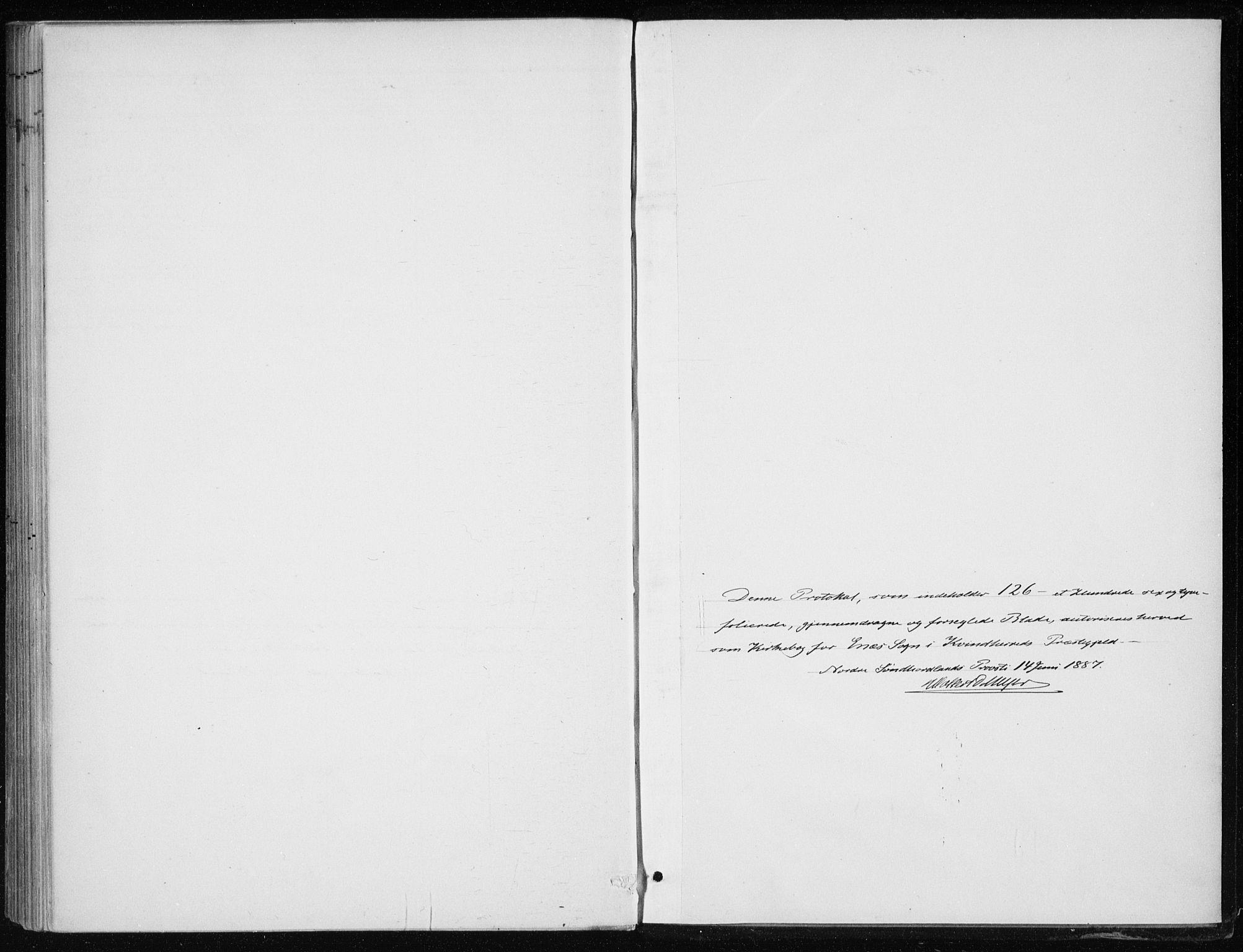 SAB, Kvinnherad Sokneprestembete, H/Haa: Ministerialbok nr. F 1, 1887-1912
