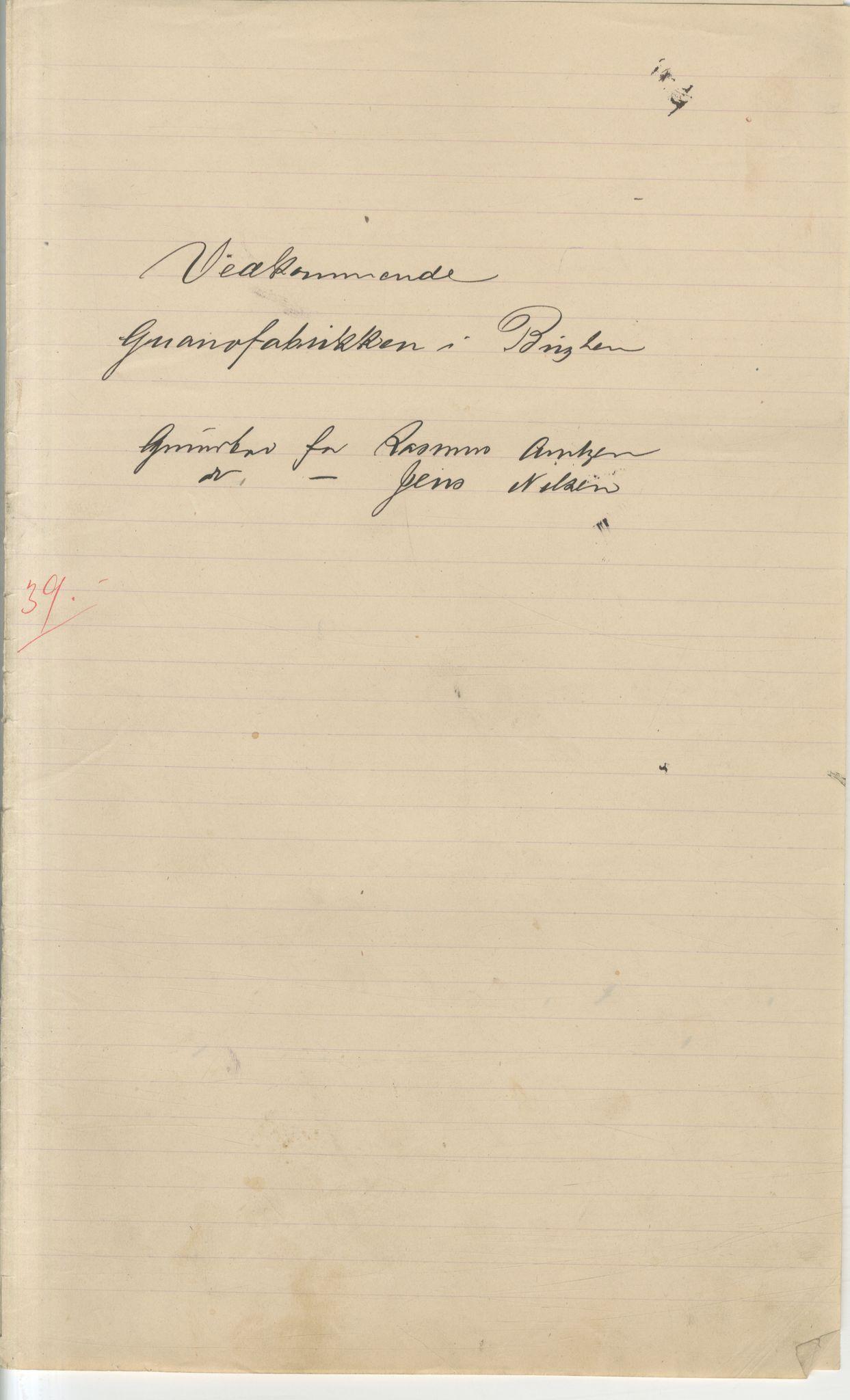VAMU, Brodtkorb handel A/S, Q/Qb/L0003: Faste eiendommer i Vardø Herred, 1862-1939, s. 165